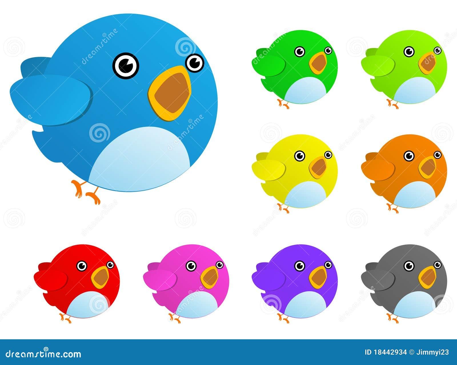 De vogel van de kleur