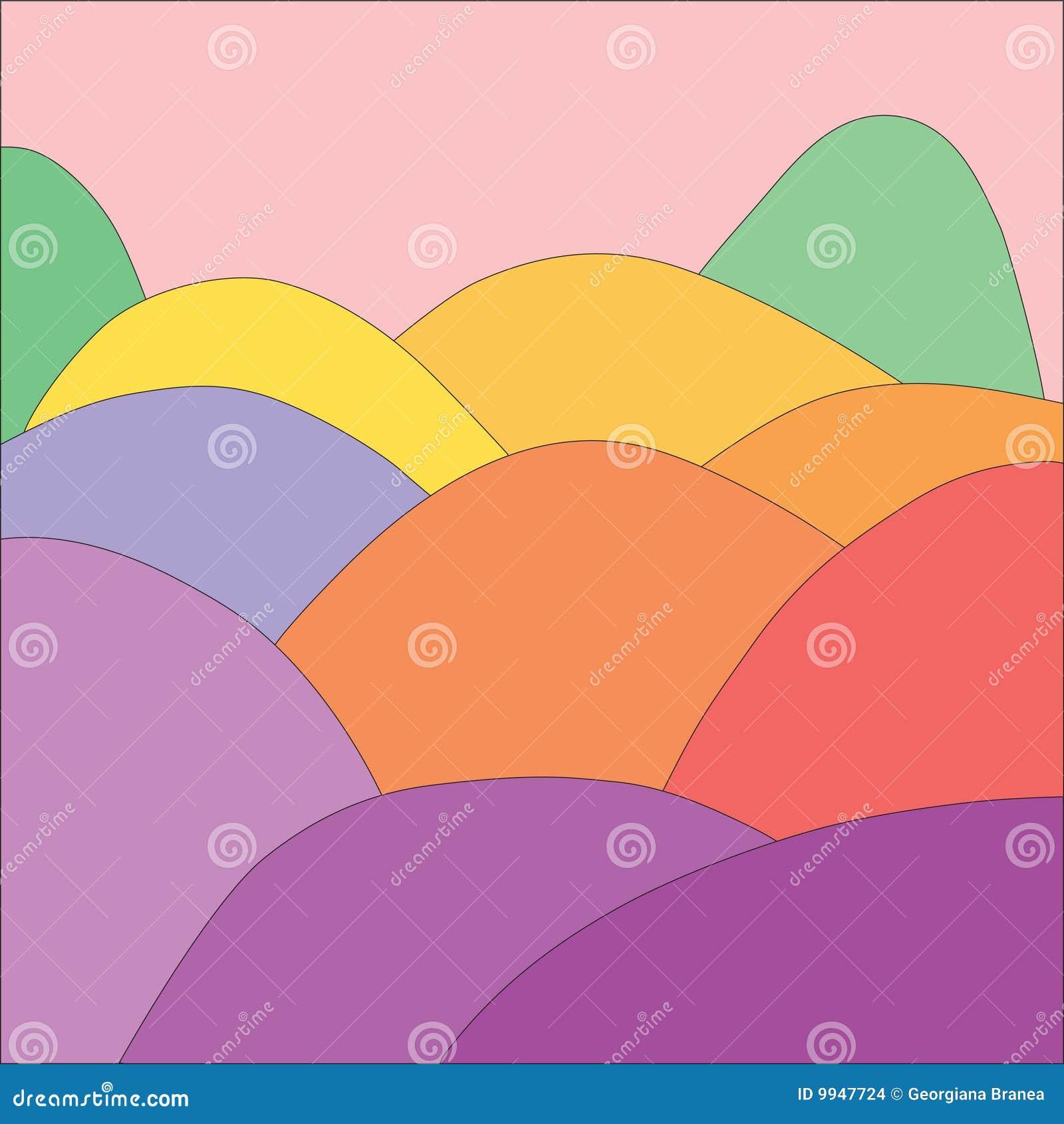 De volledige Heuvels van de Kleur