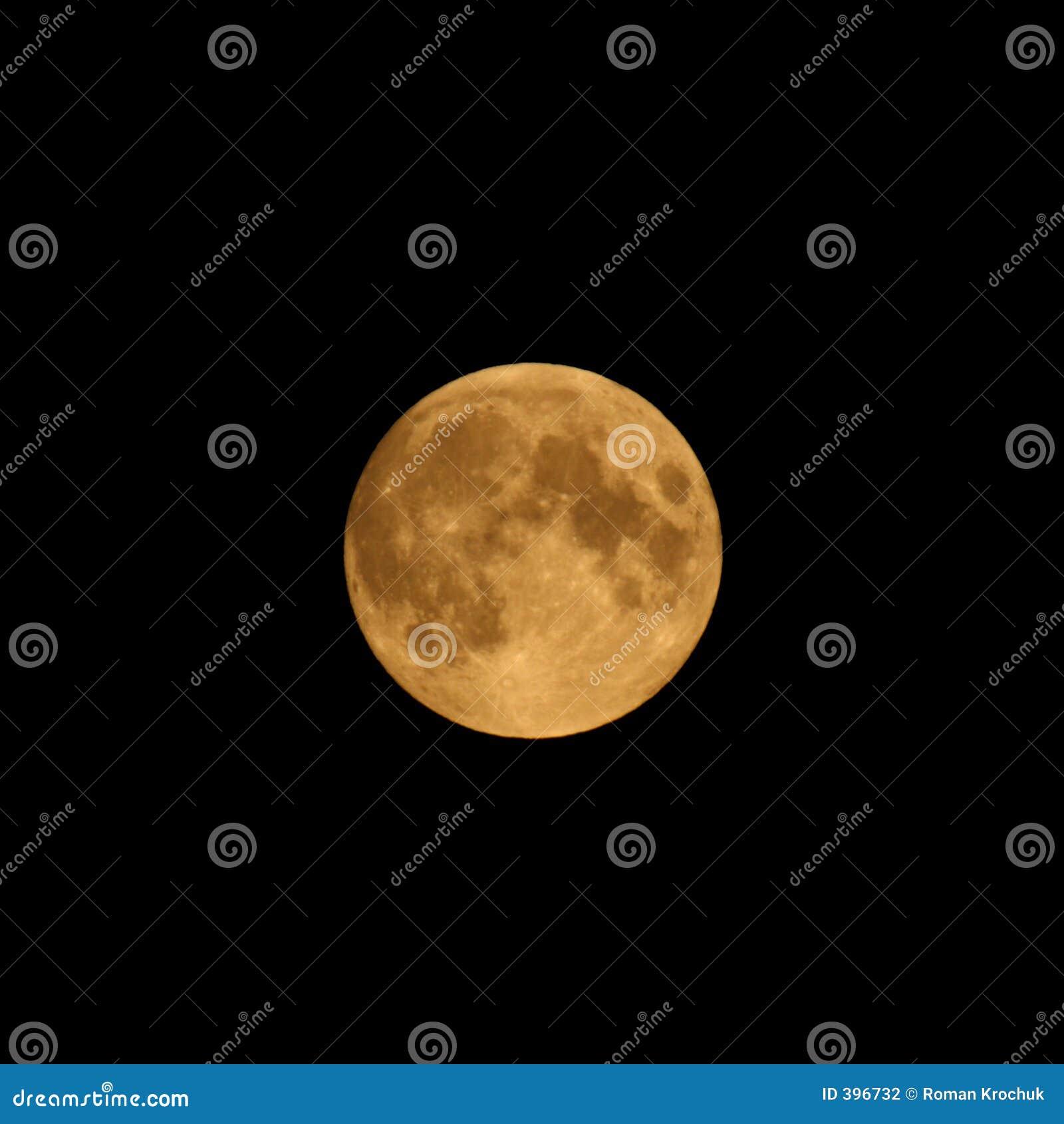 De volledige Maan van de Oogst