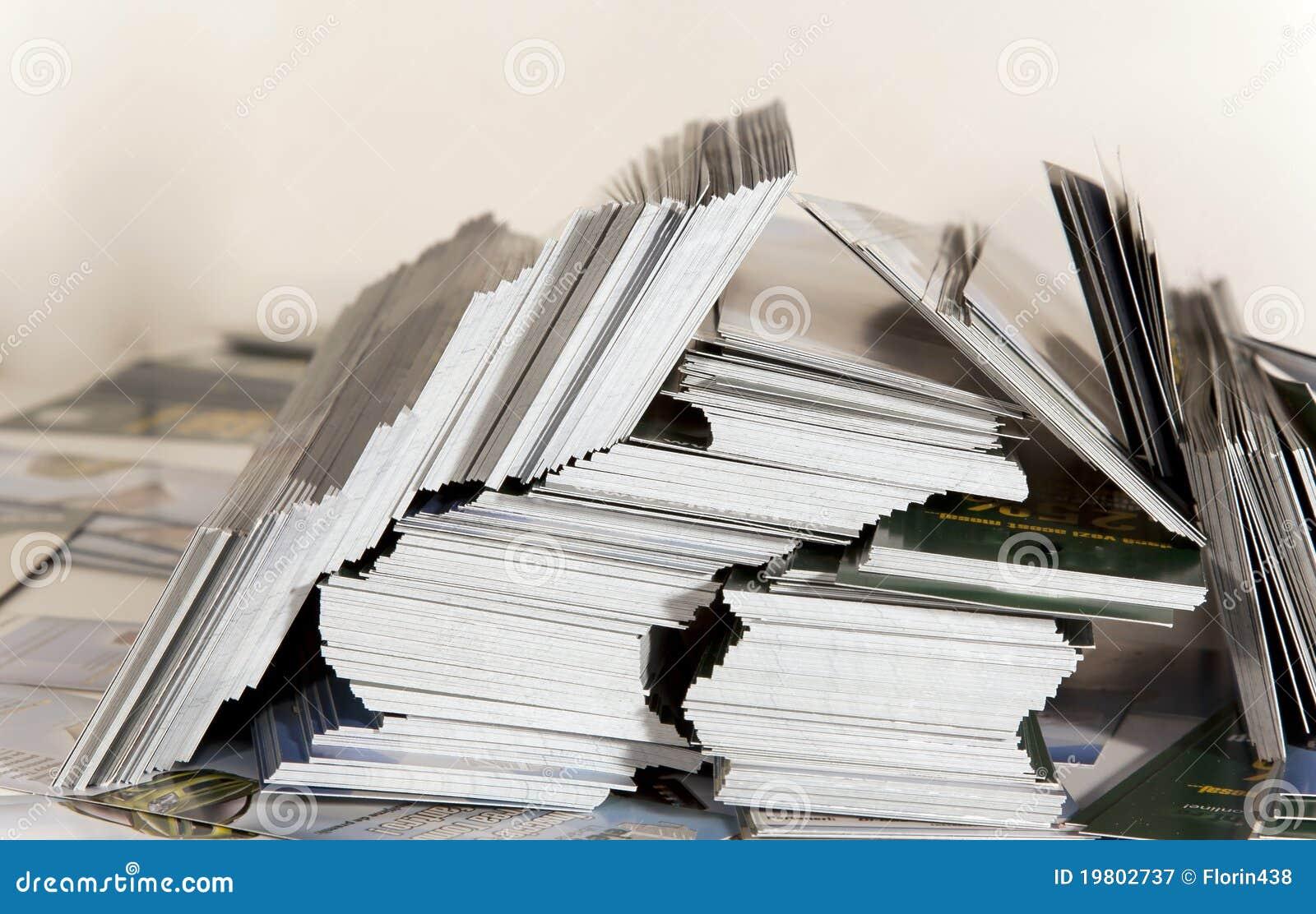 De voorraad van het pamflet
