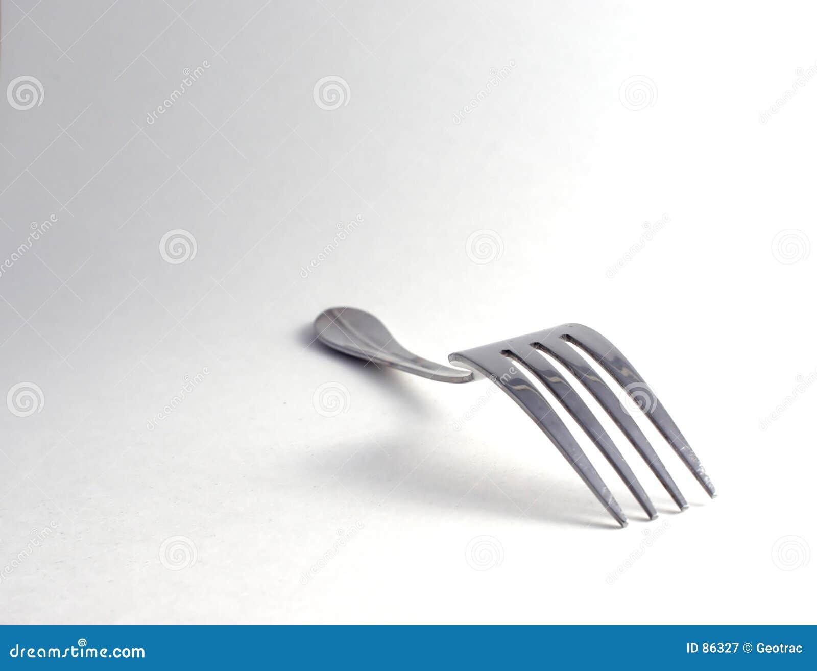 De vork van de lijst