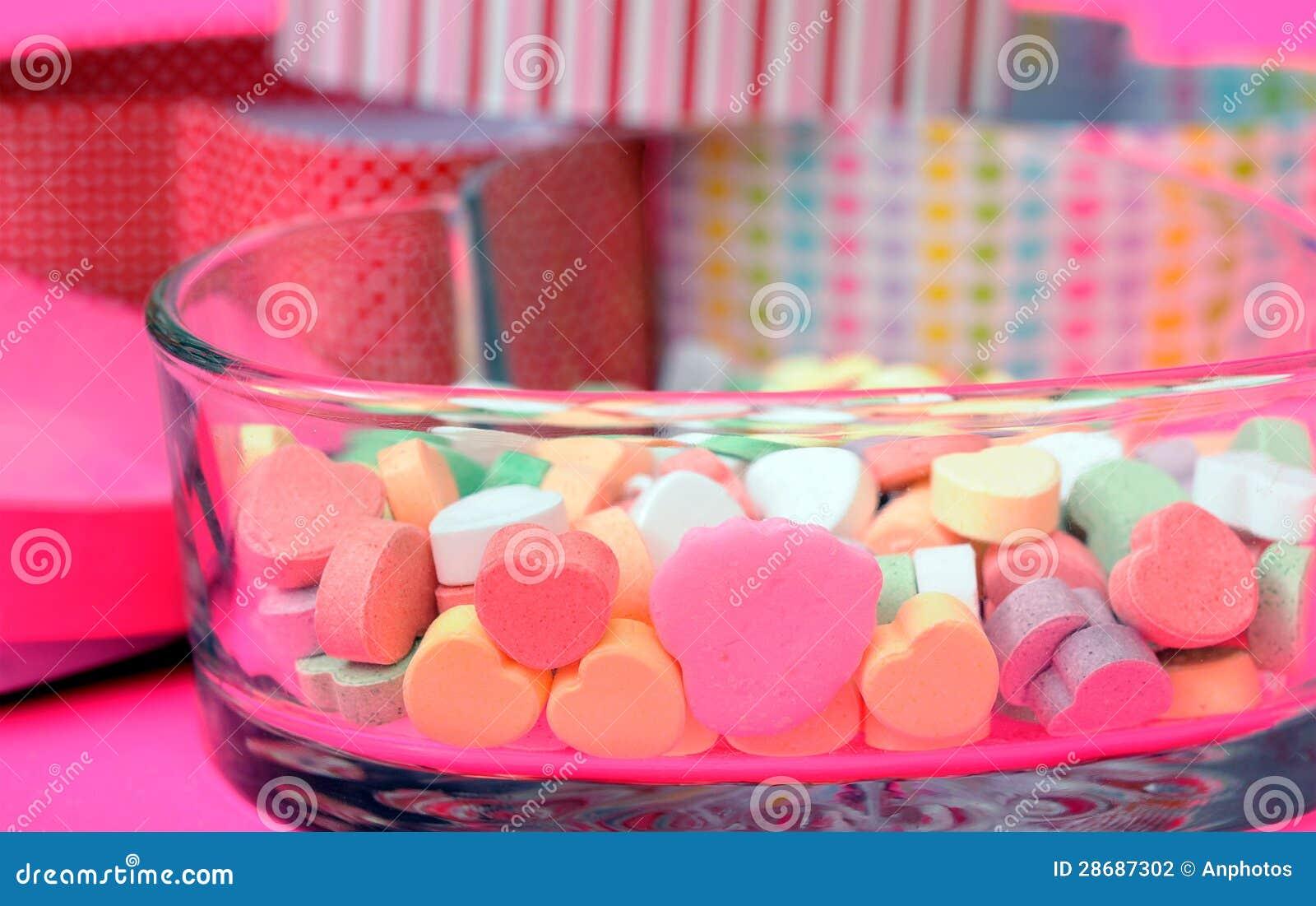De vormsuikergoed van het hart
