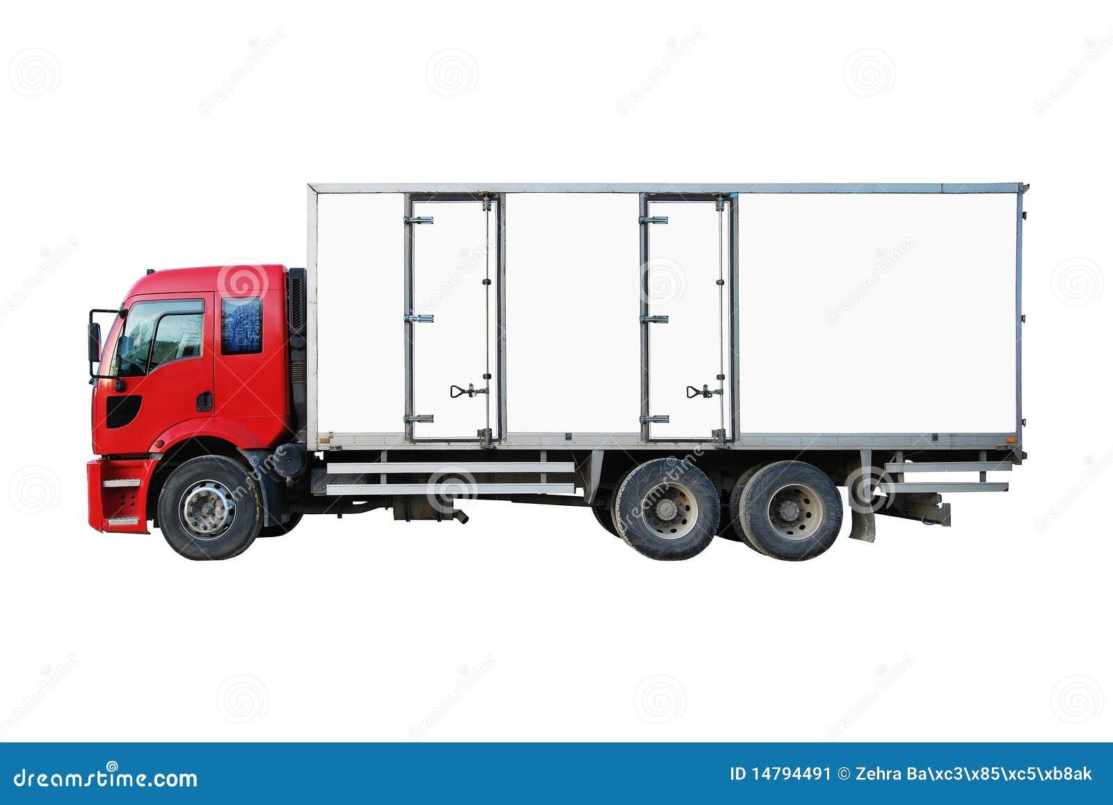 De Vrachtwagen van de lading