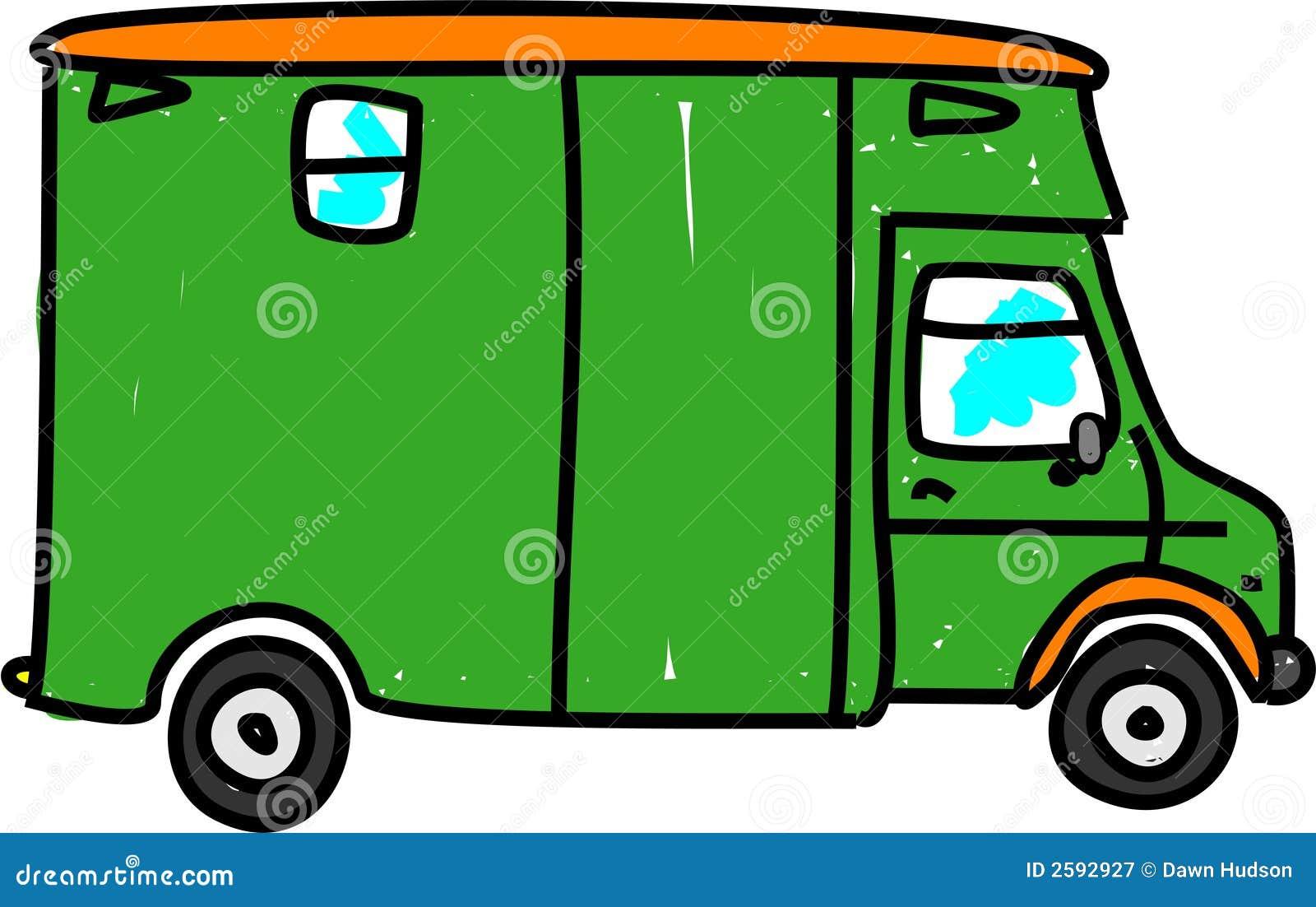 De vrachtwagen van het paard