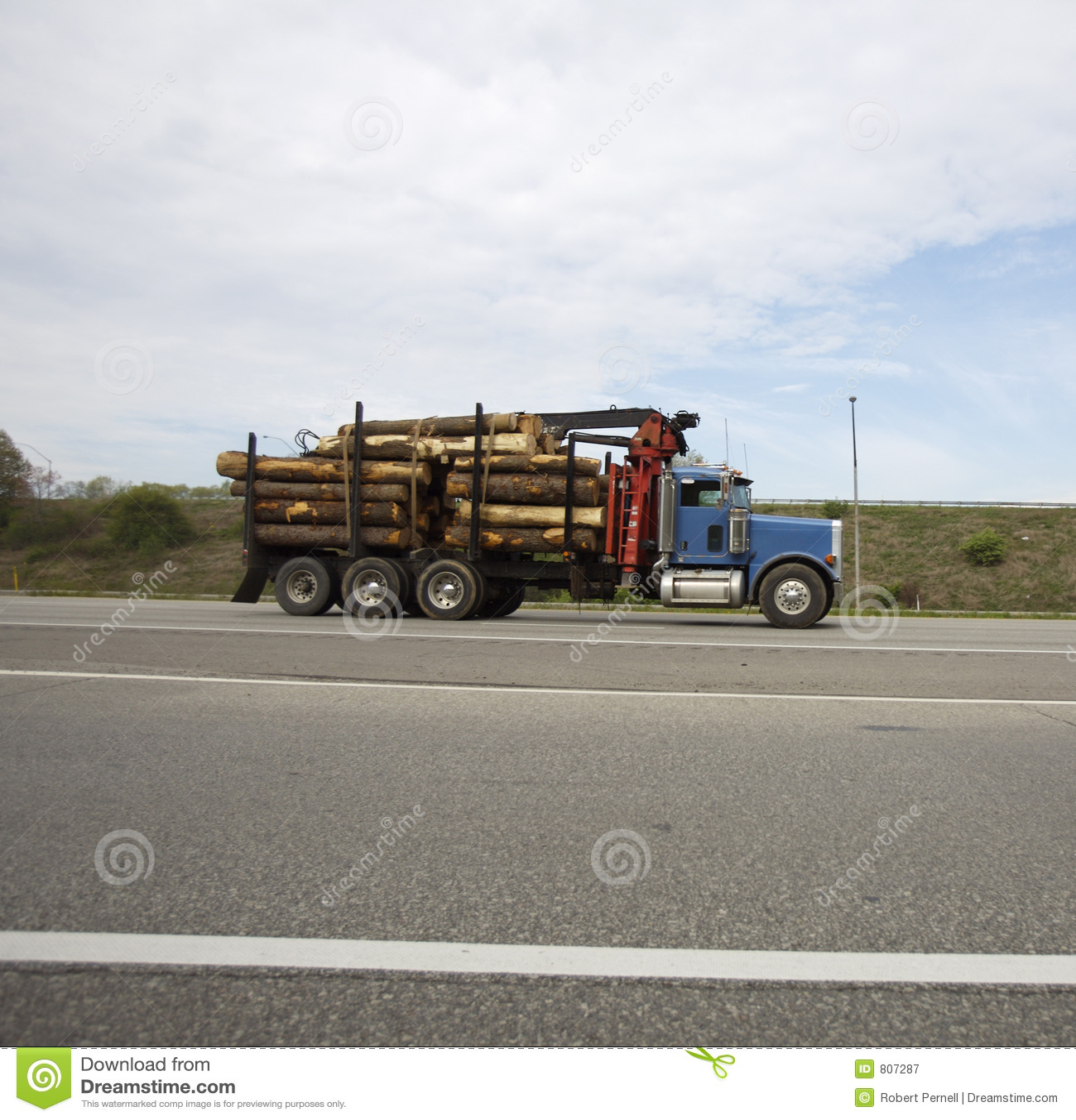 De Vrachtwagen van het registreren