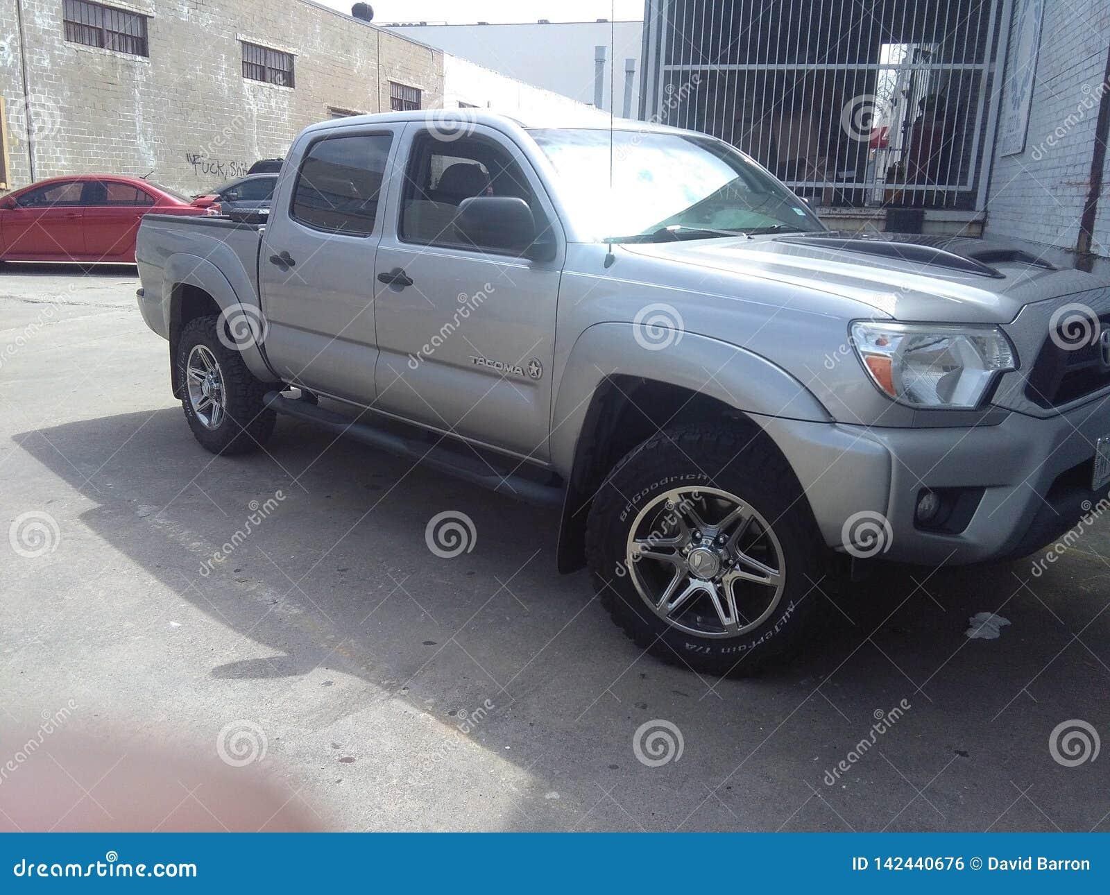 De Vrachtwagen van Toyota Tacoma