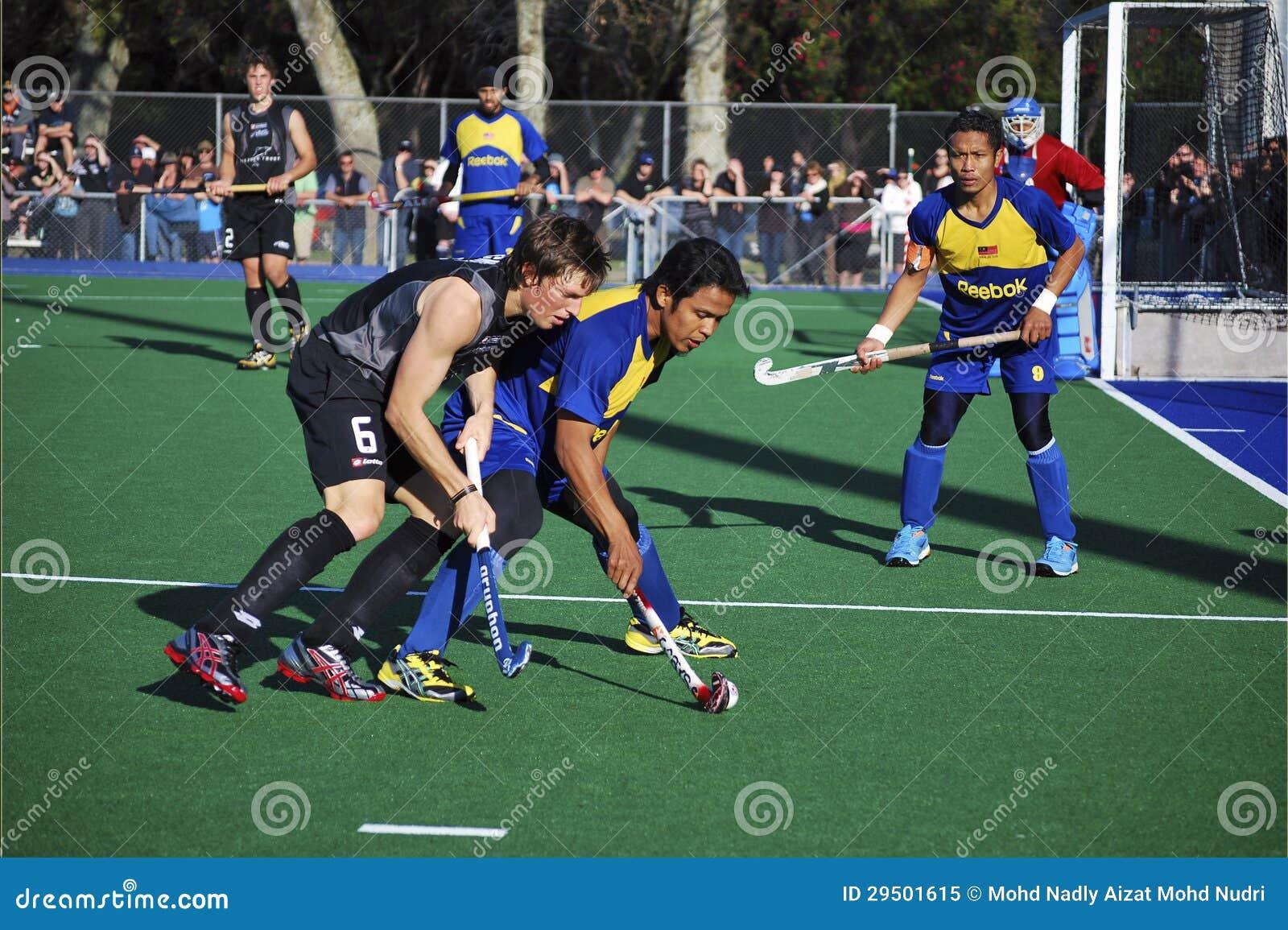 De Vriendschappelijke Gelijke van het hockey tussen Maleisië en Nieuw Zeeland 2009