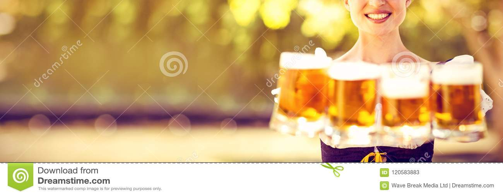 De vrij meest oktoberfest bieren van de blondeholding