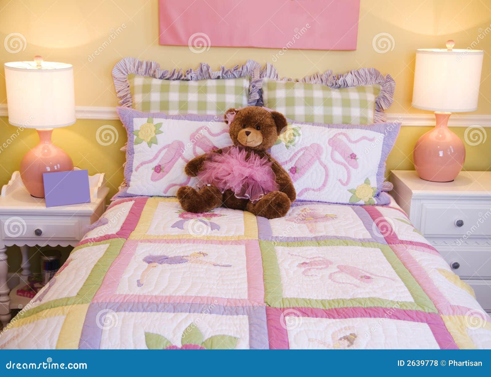 De vrij Roze Slaapkamer van Peuters met lovelly het decor en de ...