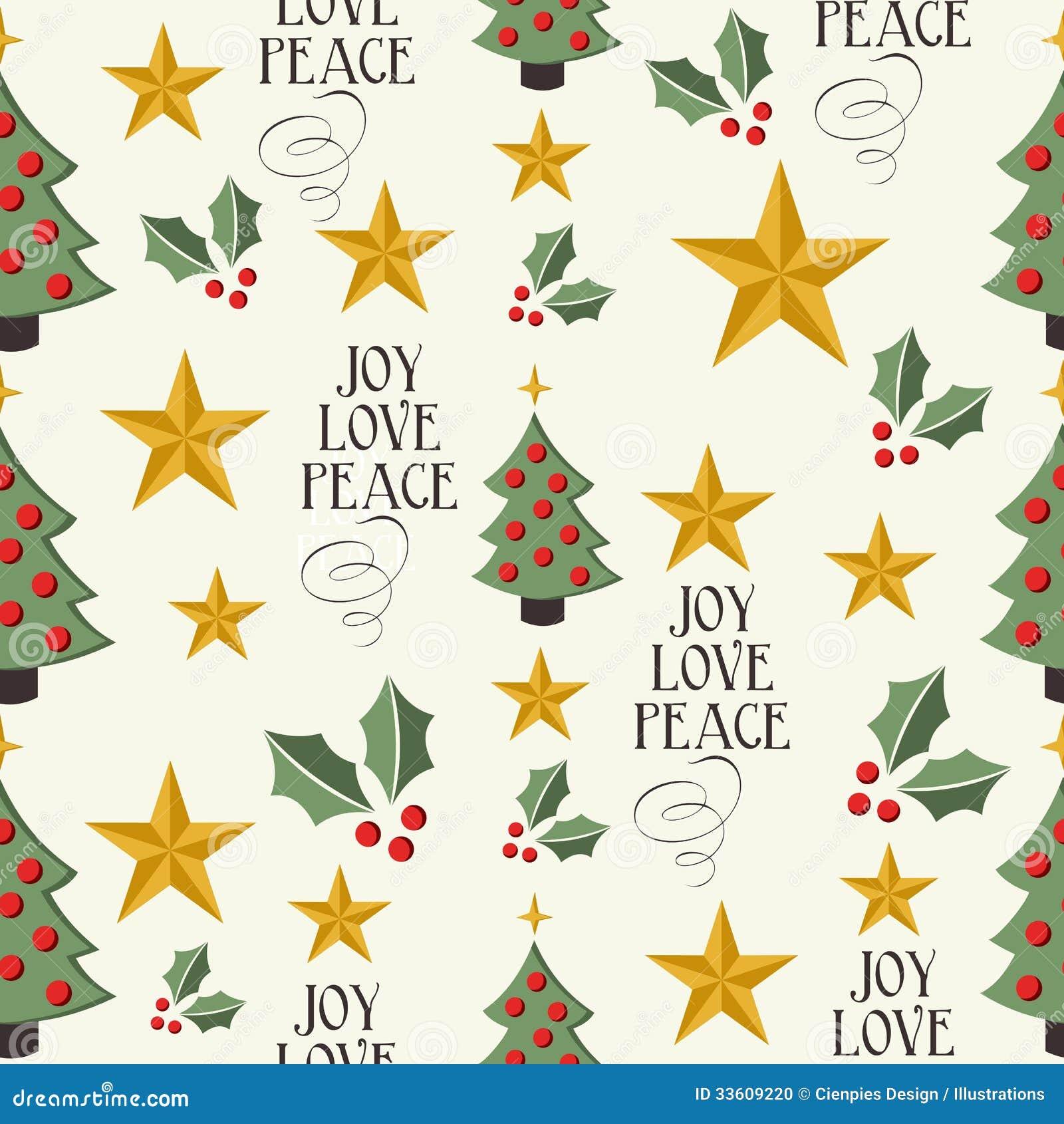 De vrolijke van het de boom naadloze patroon van Kerstmispictogrammen achtergrond EPS10 fil