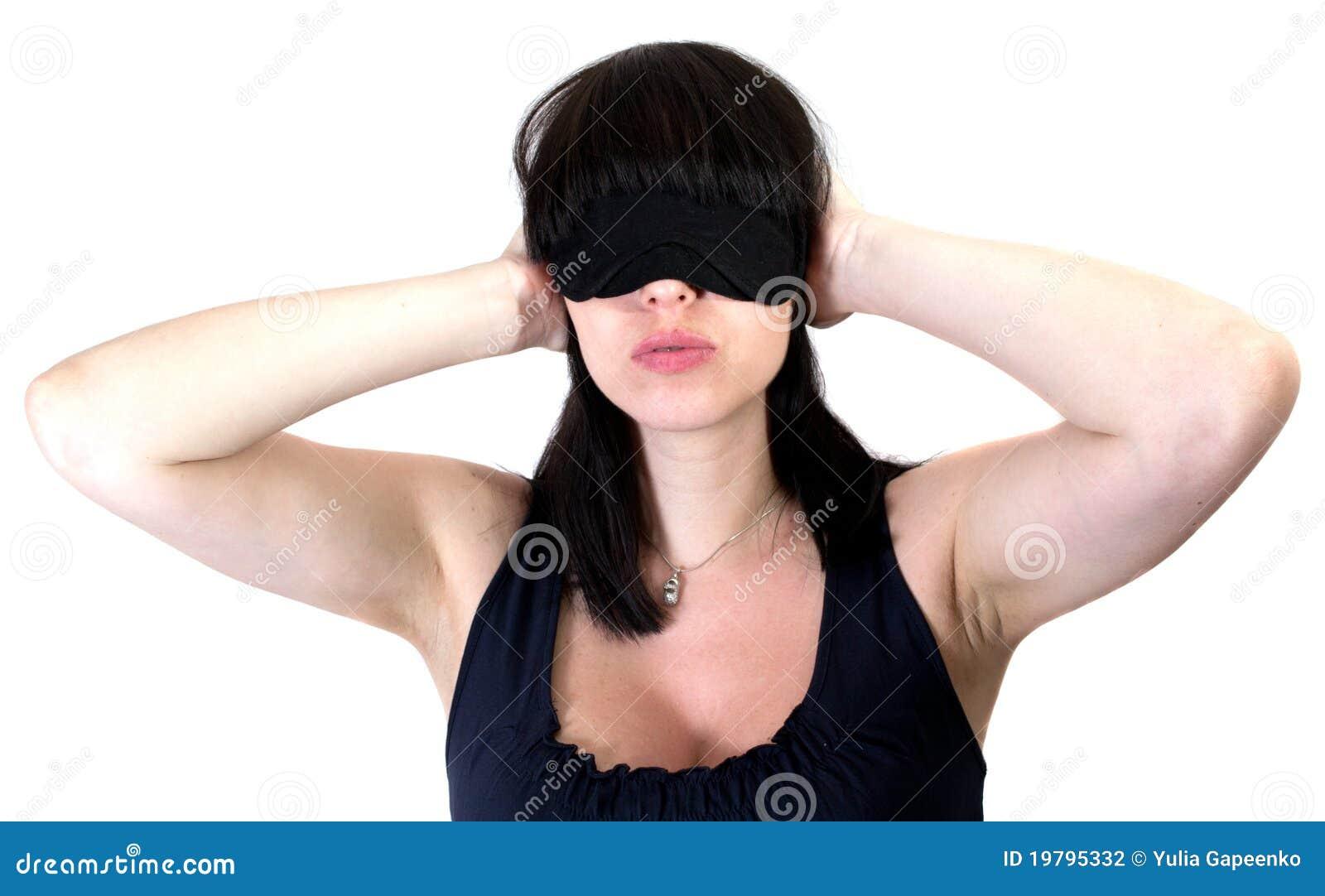 De vrouw blind en oren