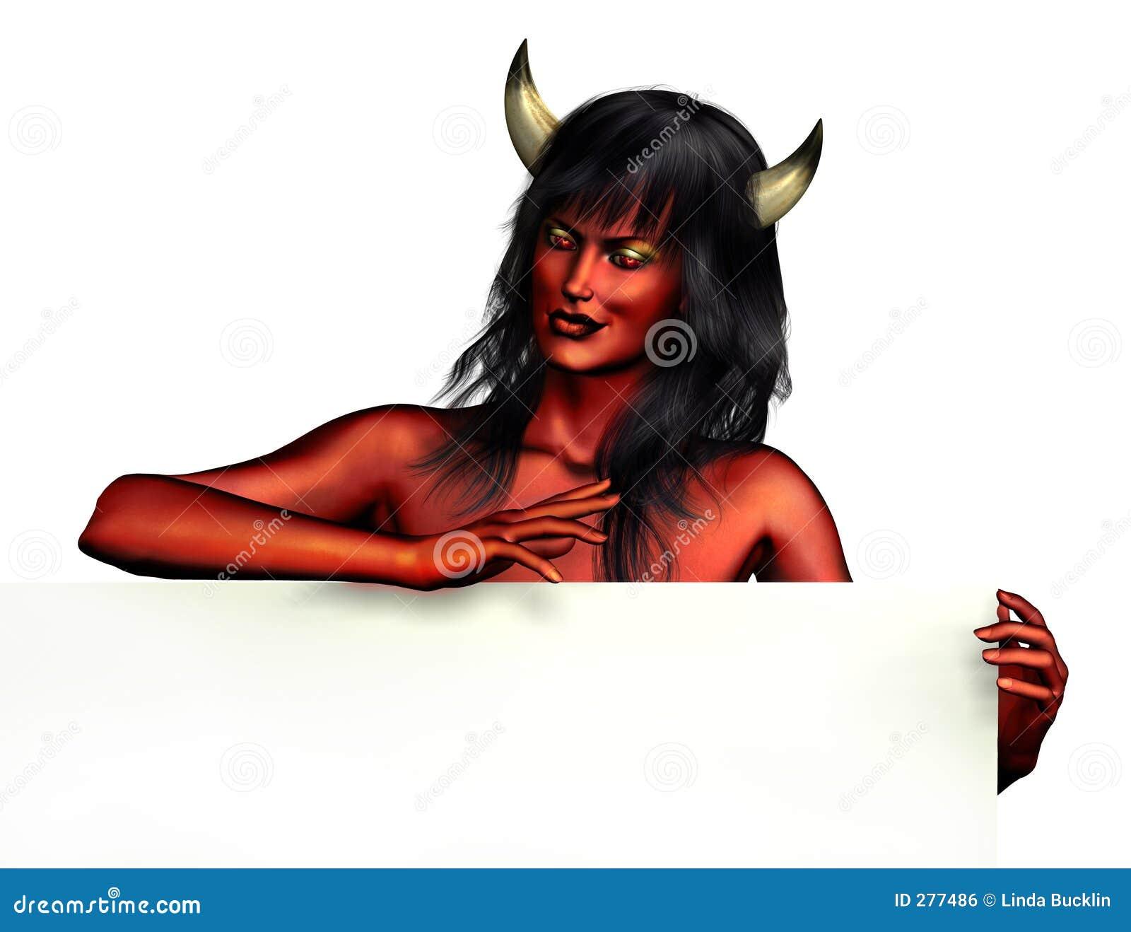 De Vrouw van de duivel met de Rand van het Teken