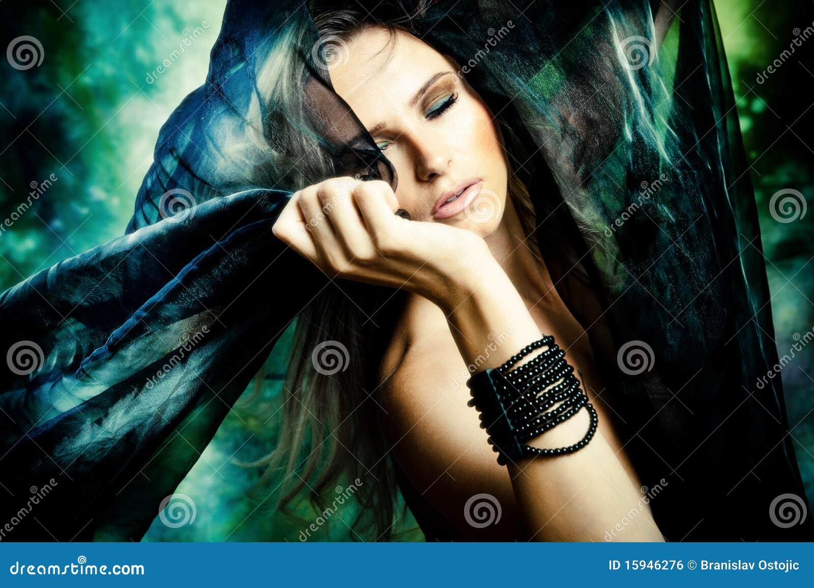 De vrouw van de fantasie