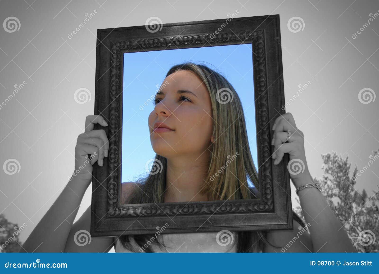 De Vrouw van het frame