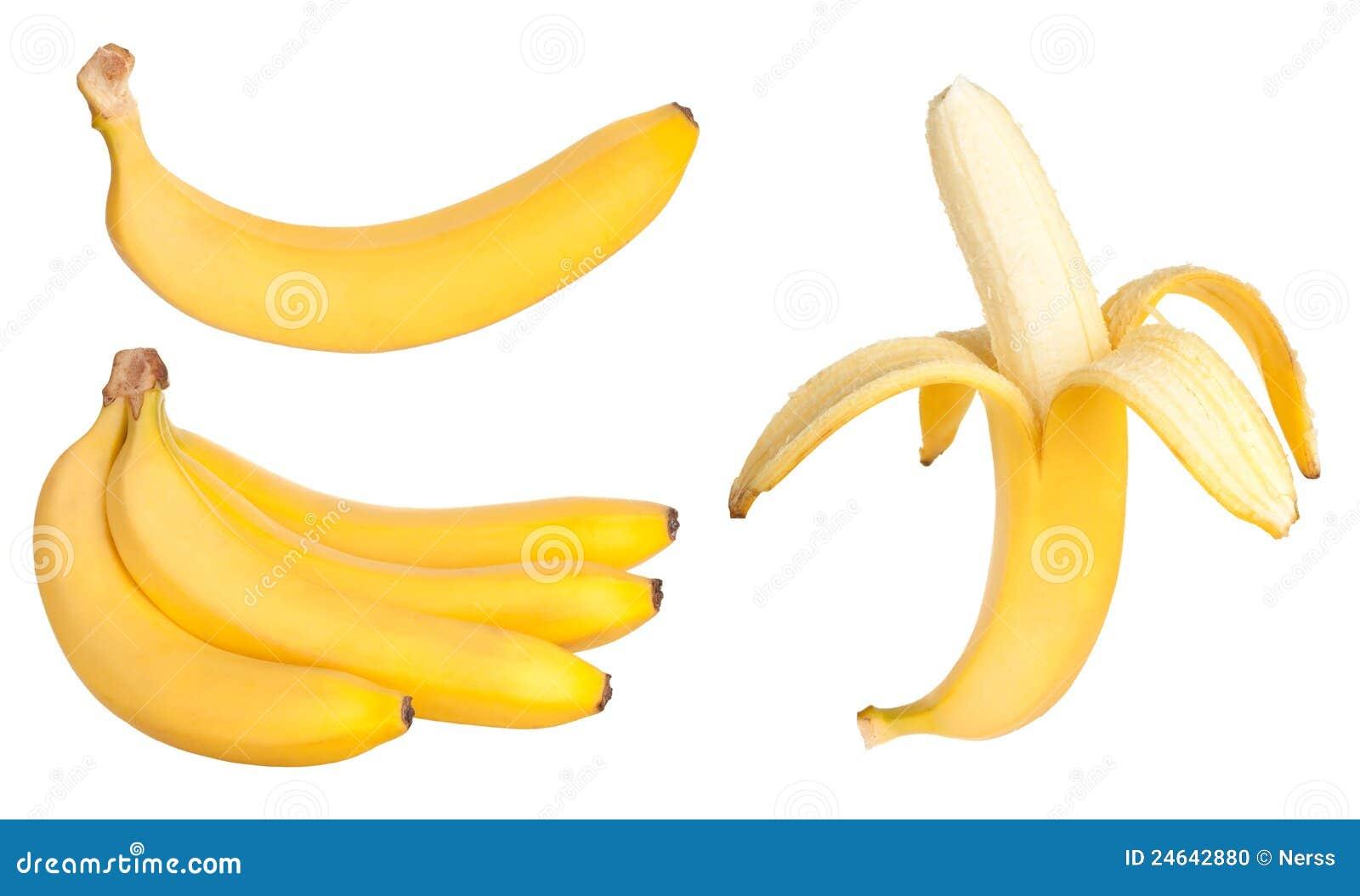 De vruchten van de banaan