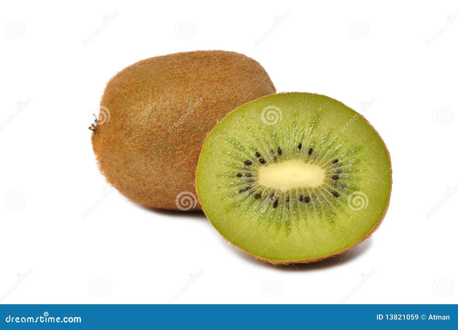 De Vruchten van de kiwi