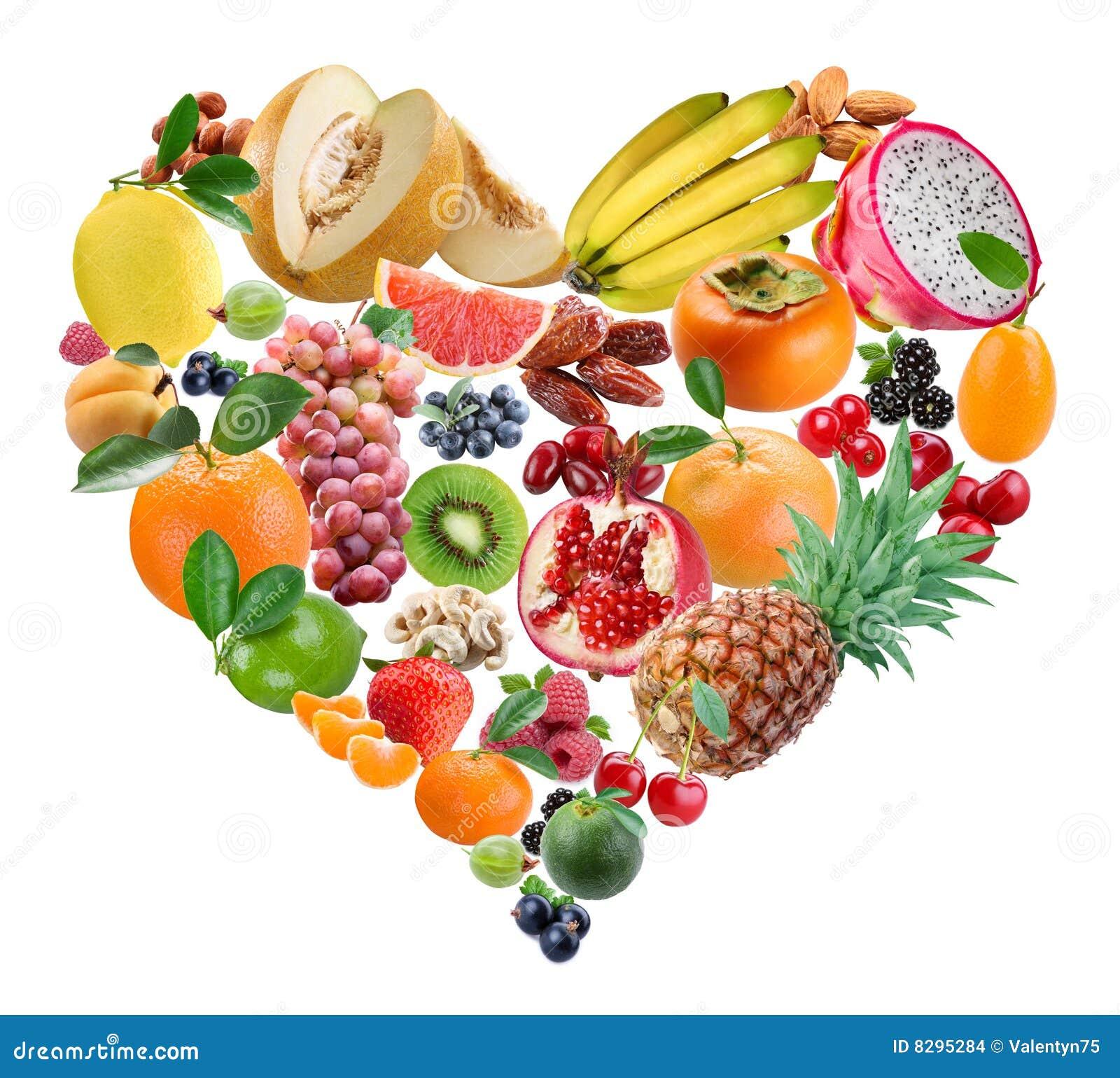 De vruchten van het hart