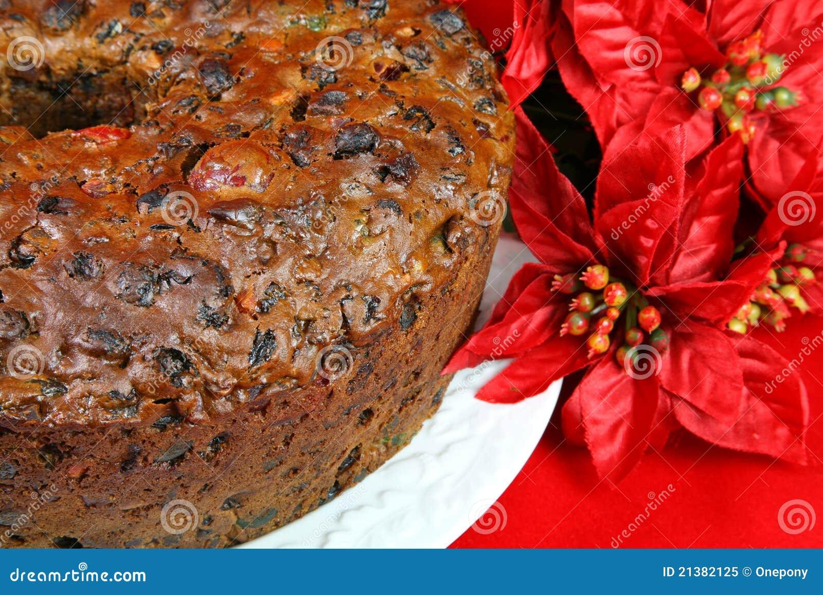 De Vruchtencake van Kerstmis