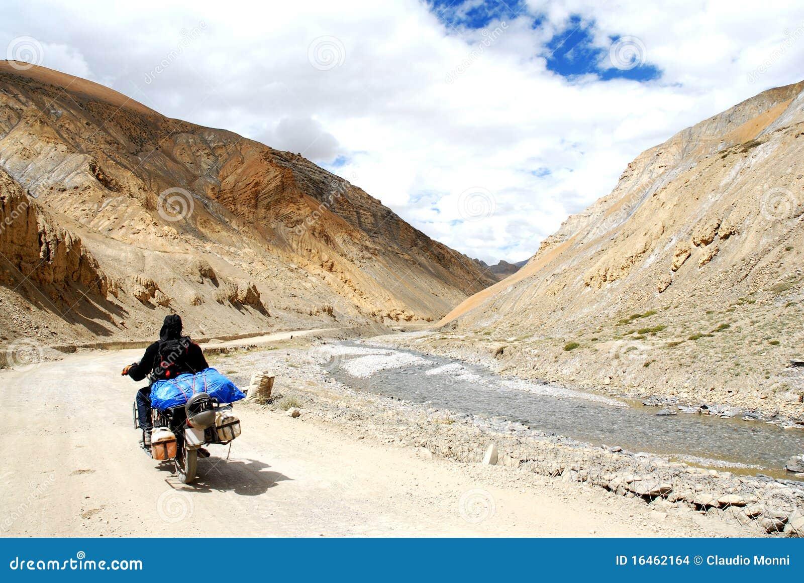 De waaier van Himalayagebergte