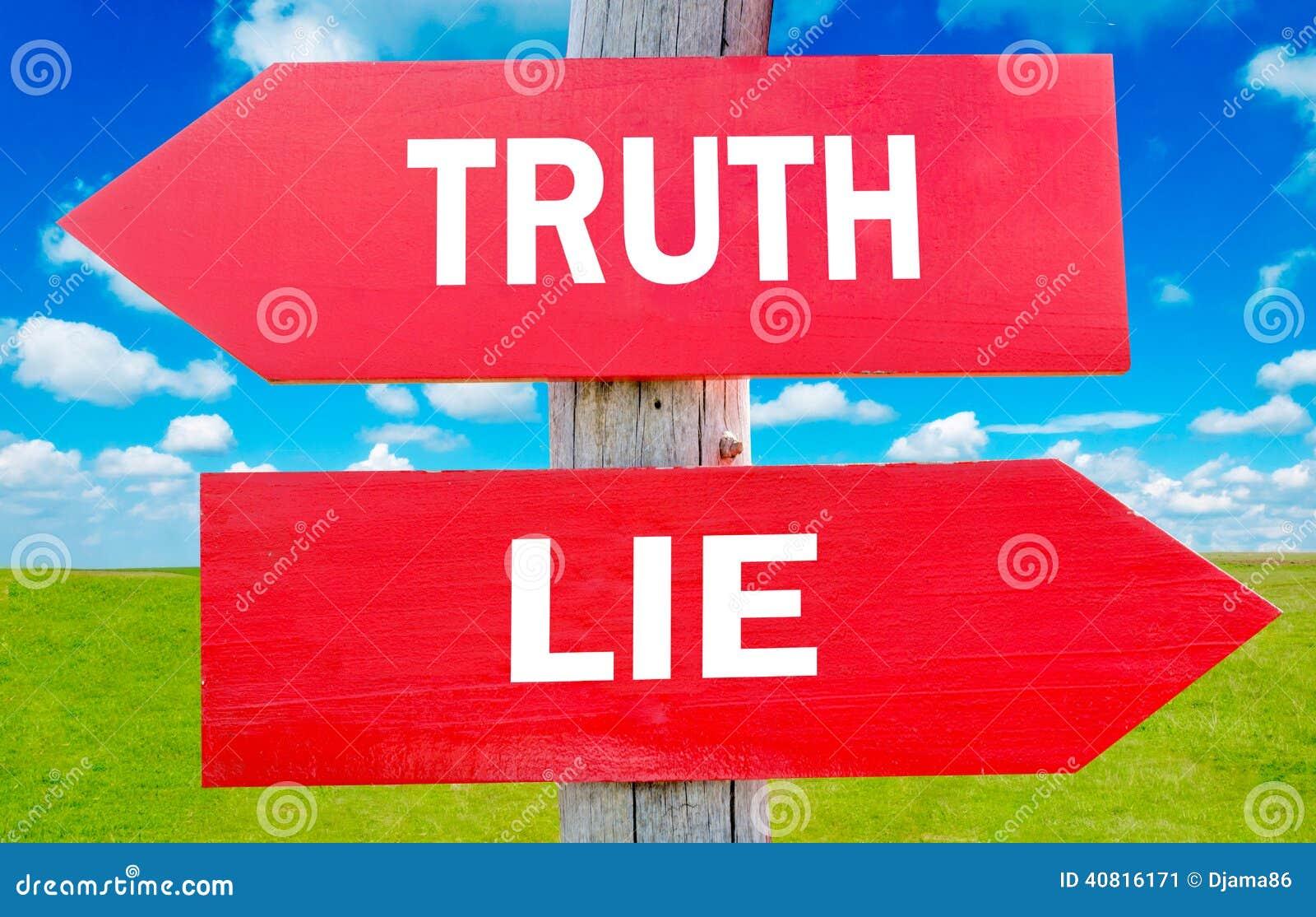 De waarheid of ligt