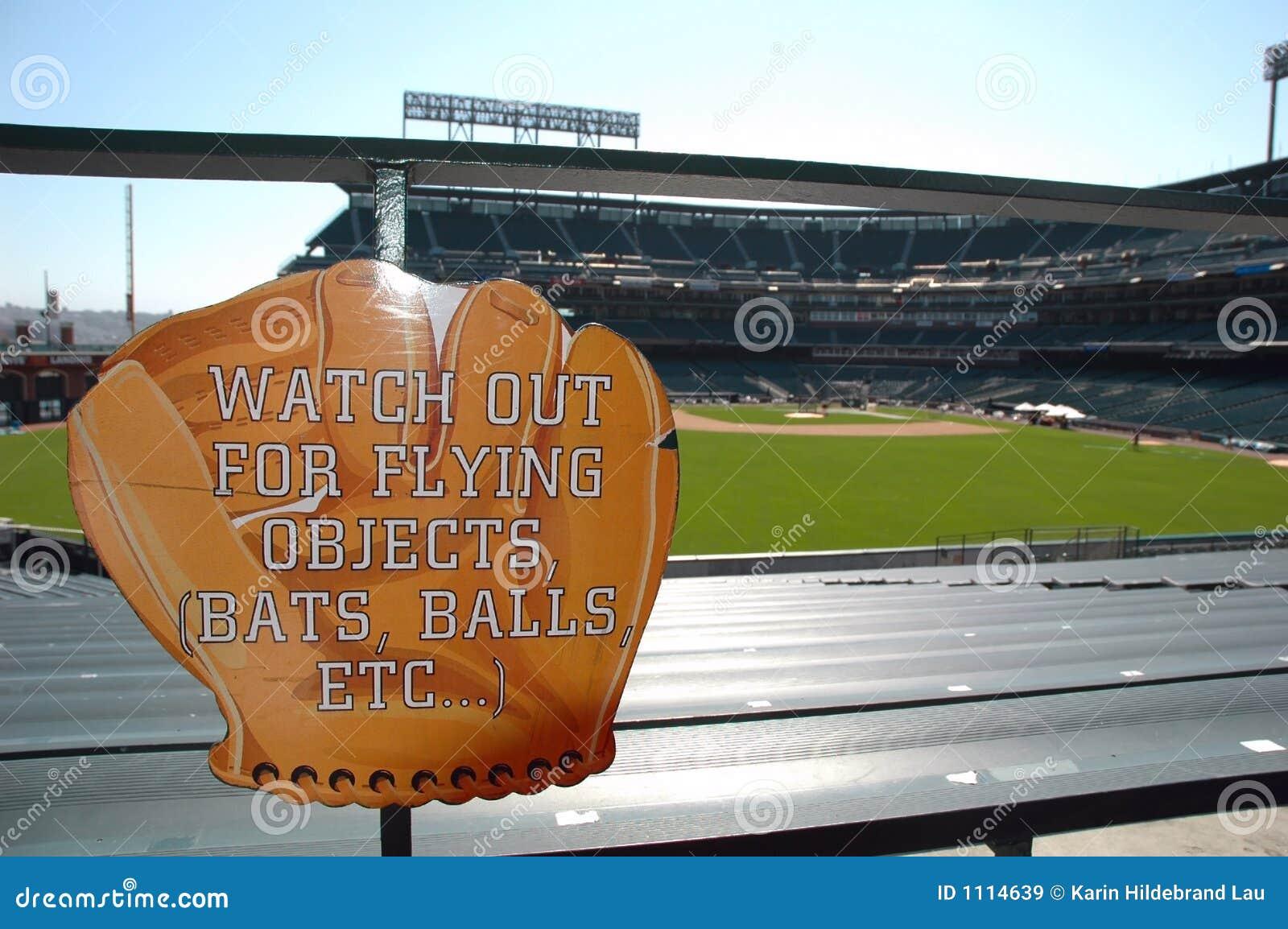 De Waarschuwing van het honkbal
