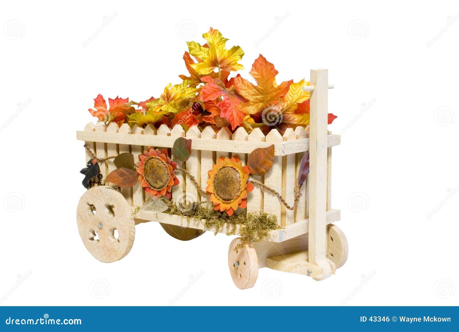 De wagen van de Bloem.