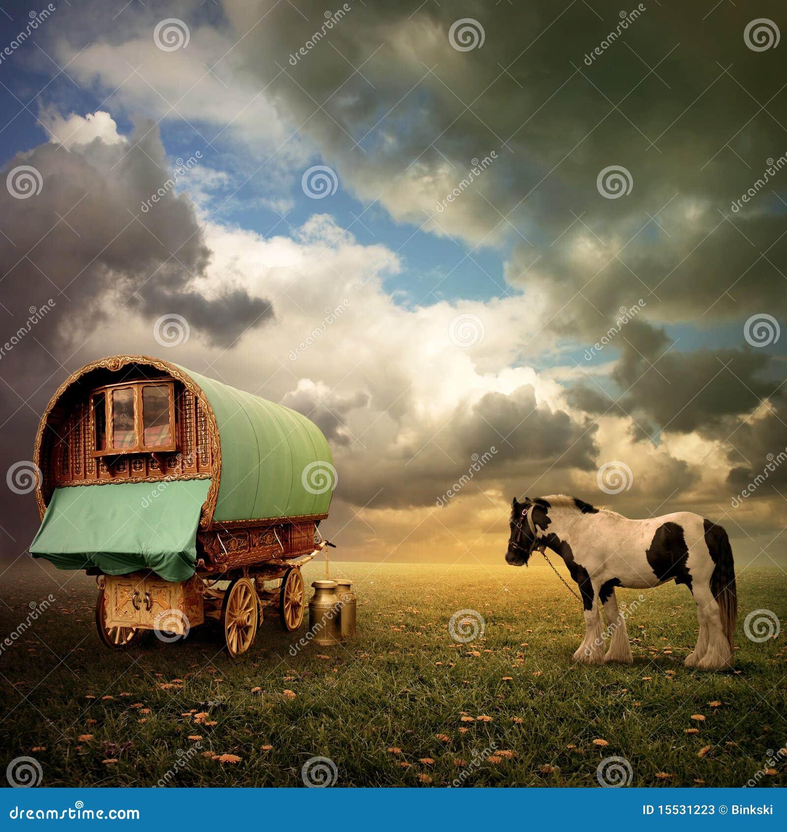 De Wagen van de zigeuner, Caravan