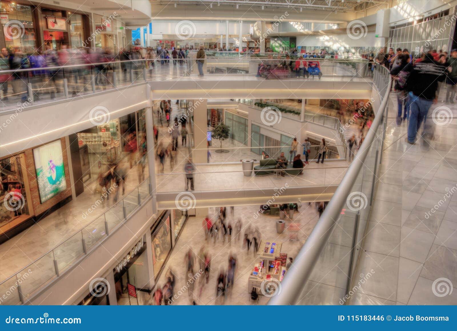 De Wandelgalerij van Amerika is Major Shopping Center in Tweelingcitie