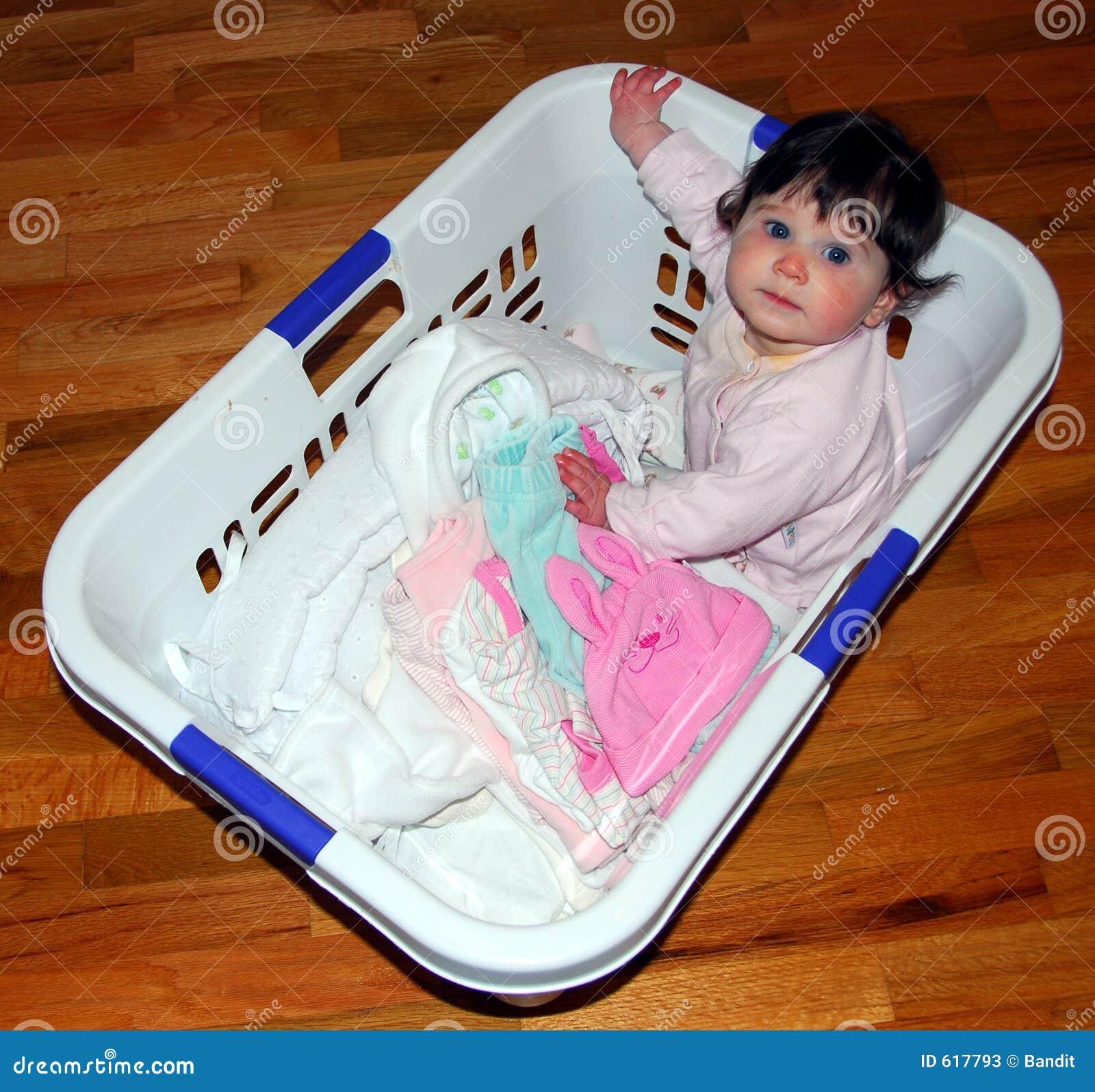 De Wasserij van de baby
