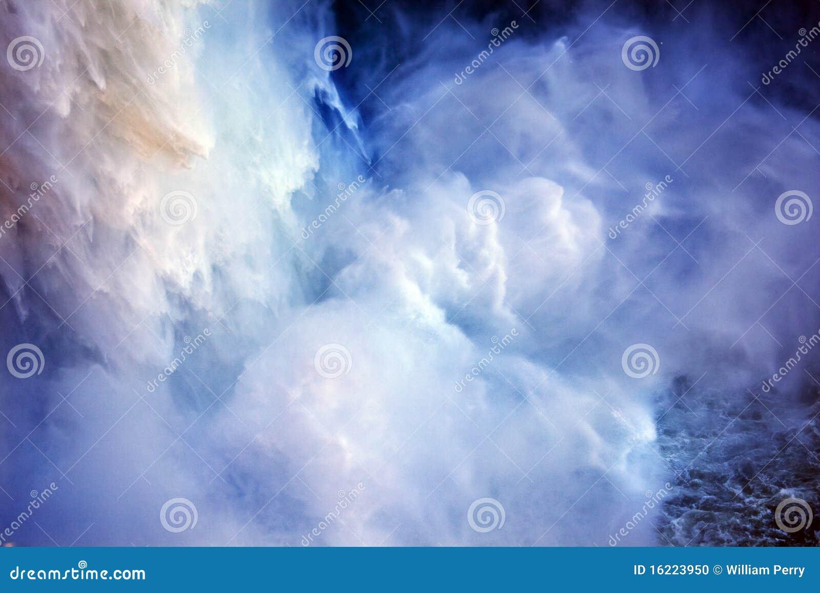 De Waterval Abstract Washington van de Dalingen van Snoqualme