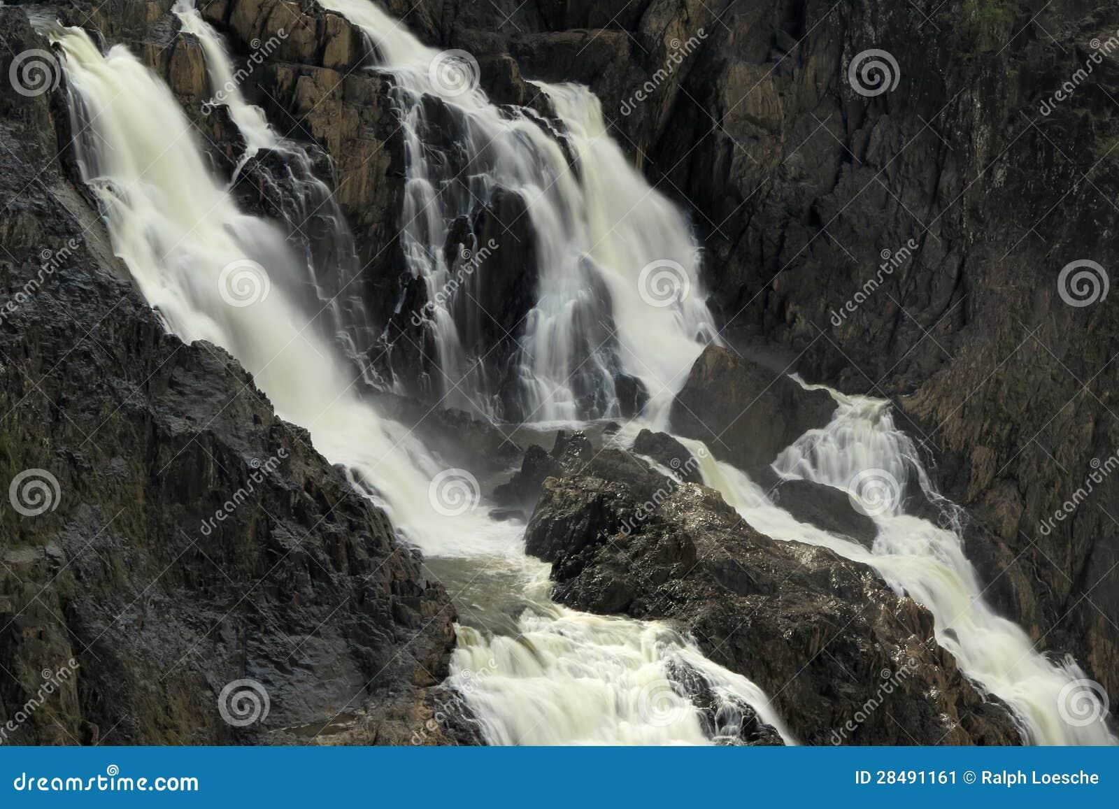 De Waterval van de Kloof van Barron