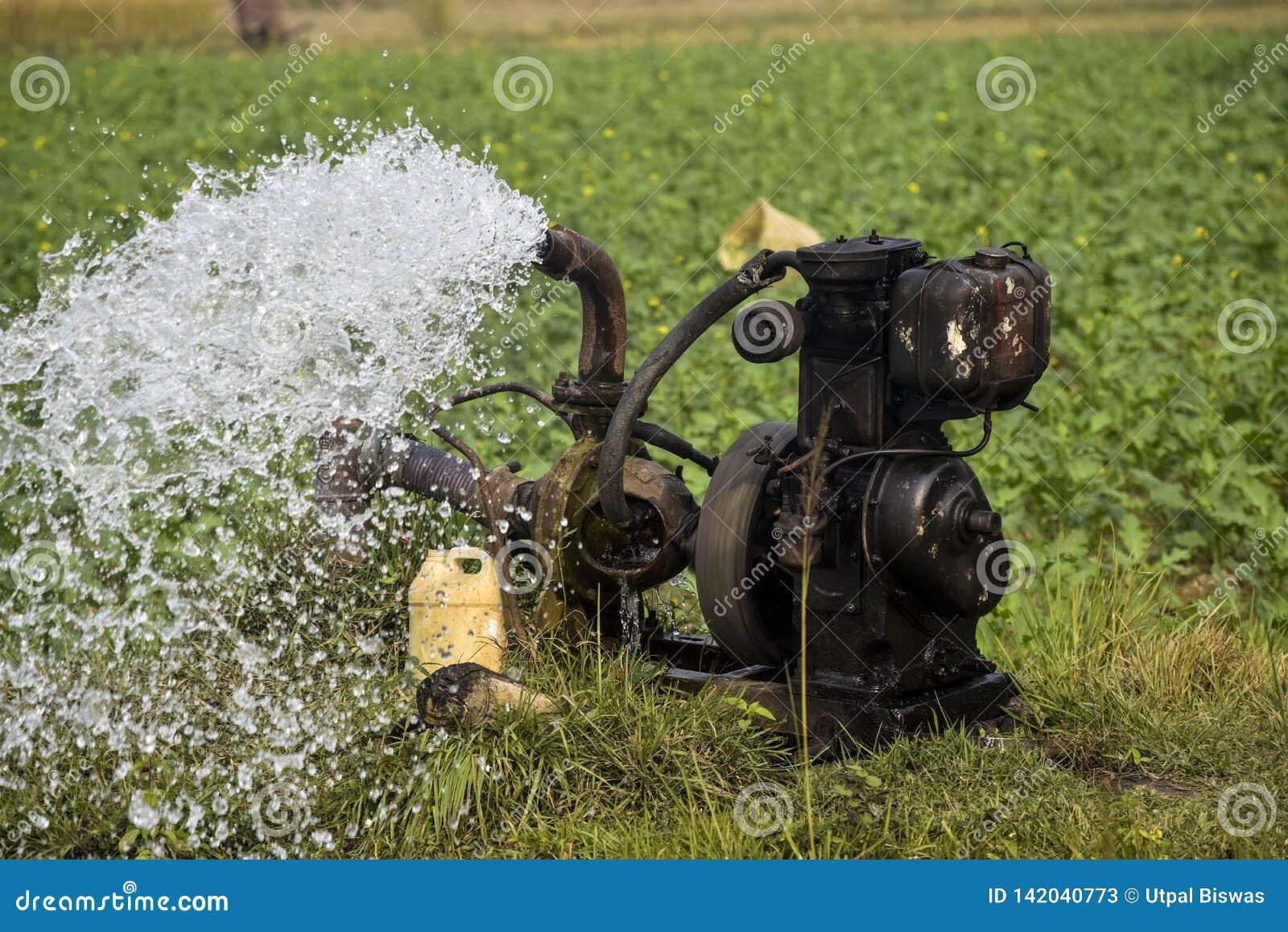 De watervoorziening van de het waterpomp van de cellomachine