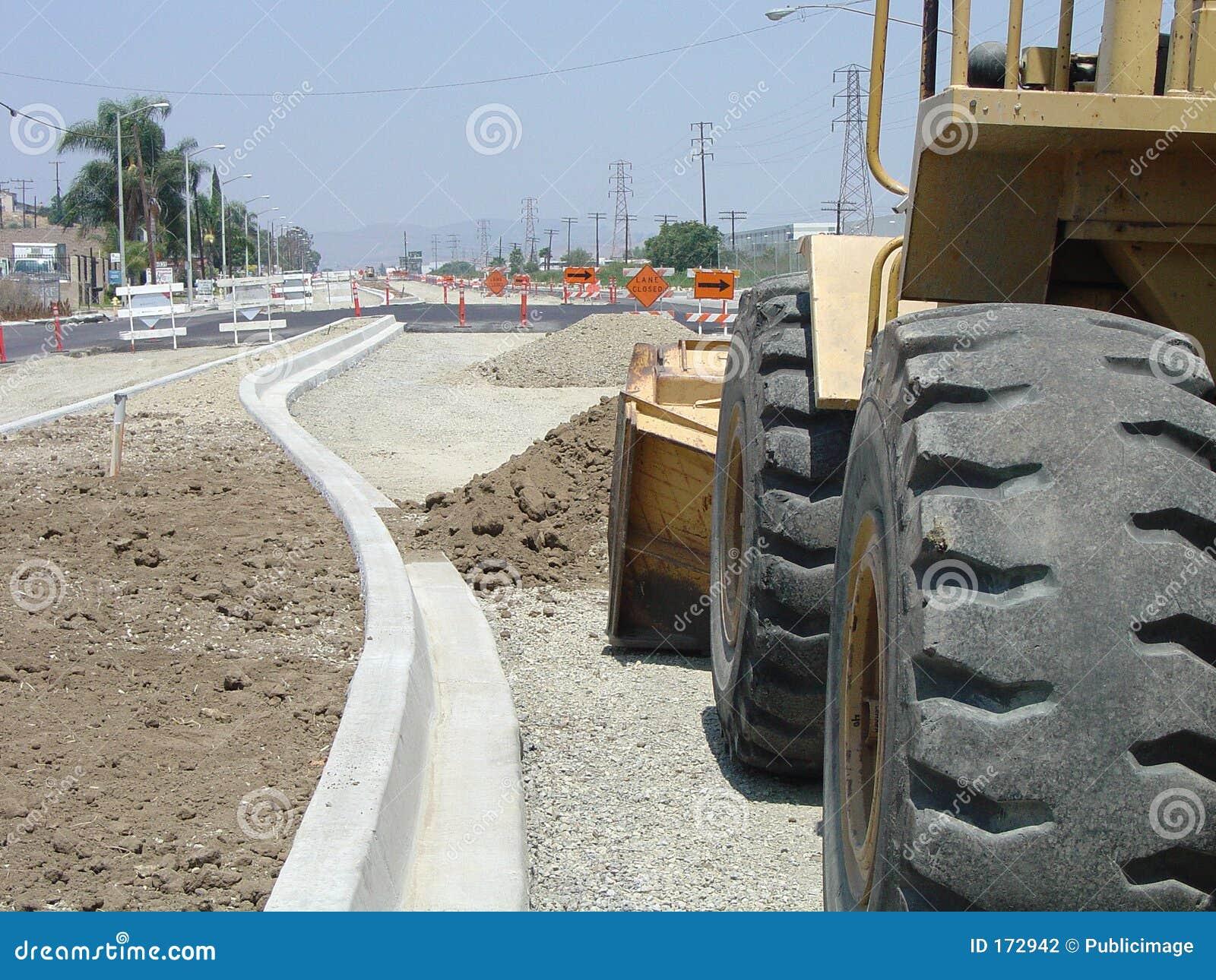 De wederopbouw van de straat