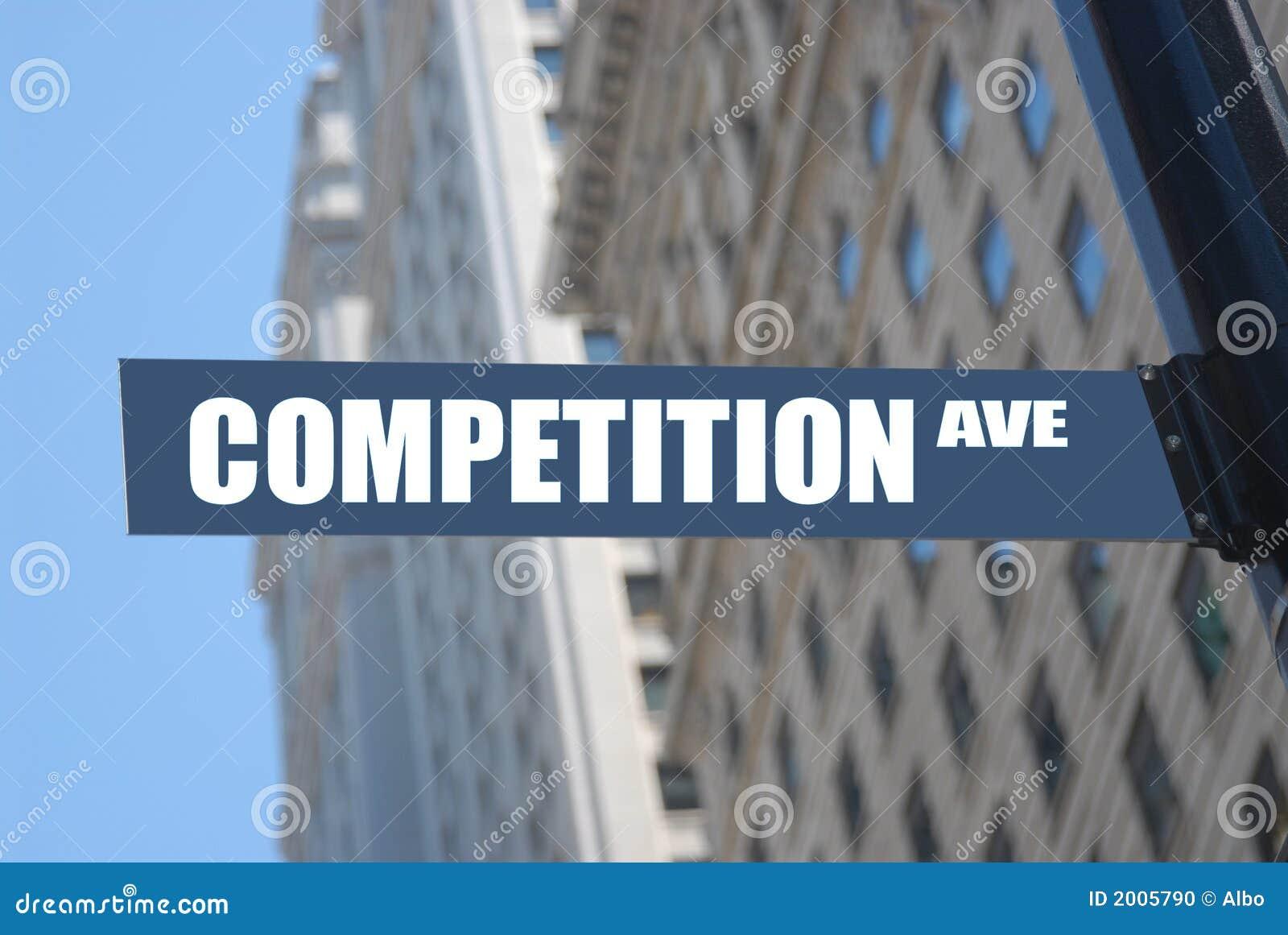 De weg van de concurrentie