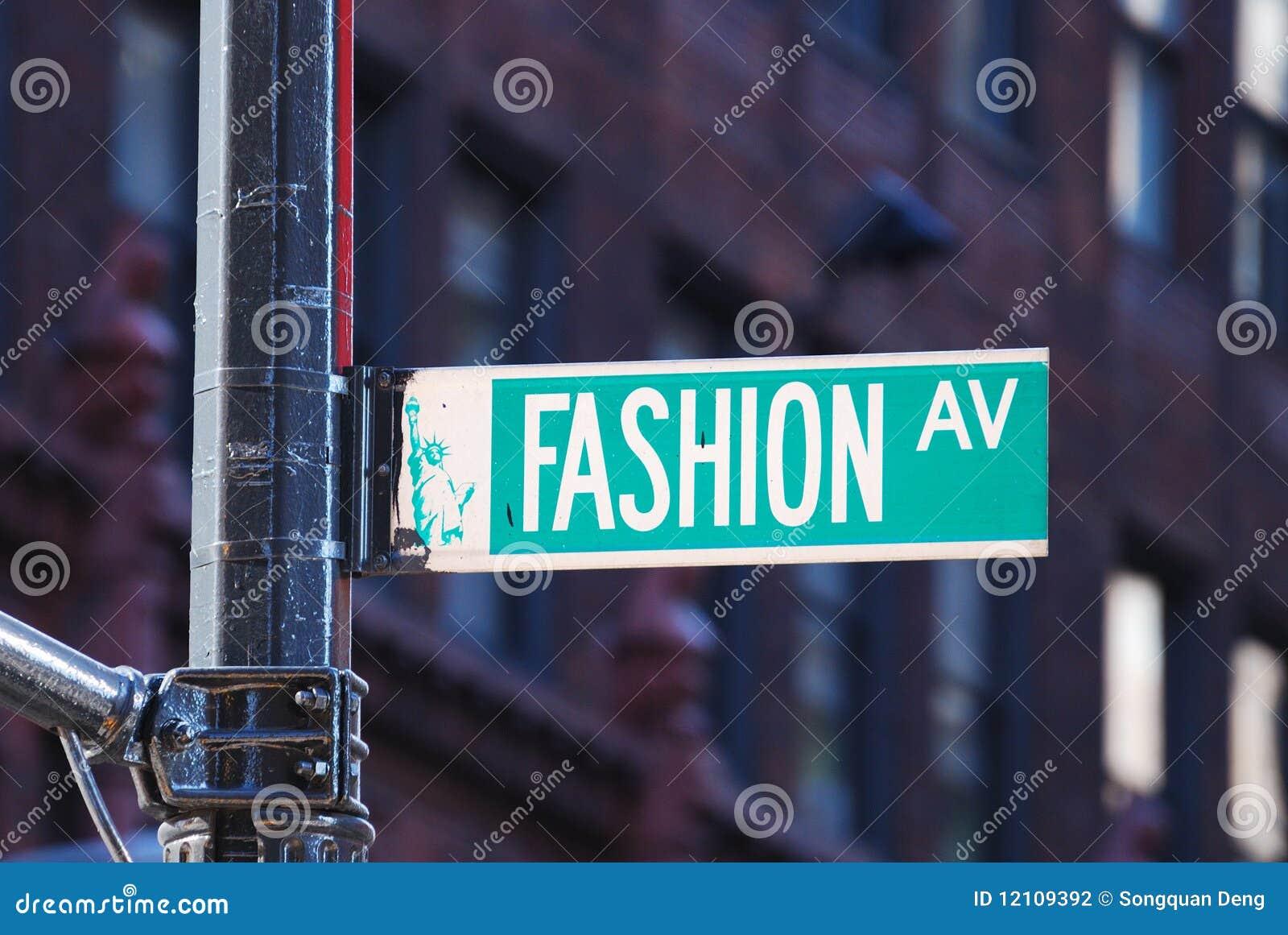 De weg van de manier in de Stad van New York