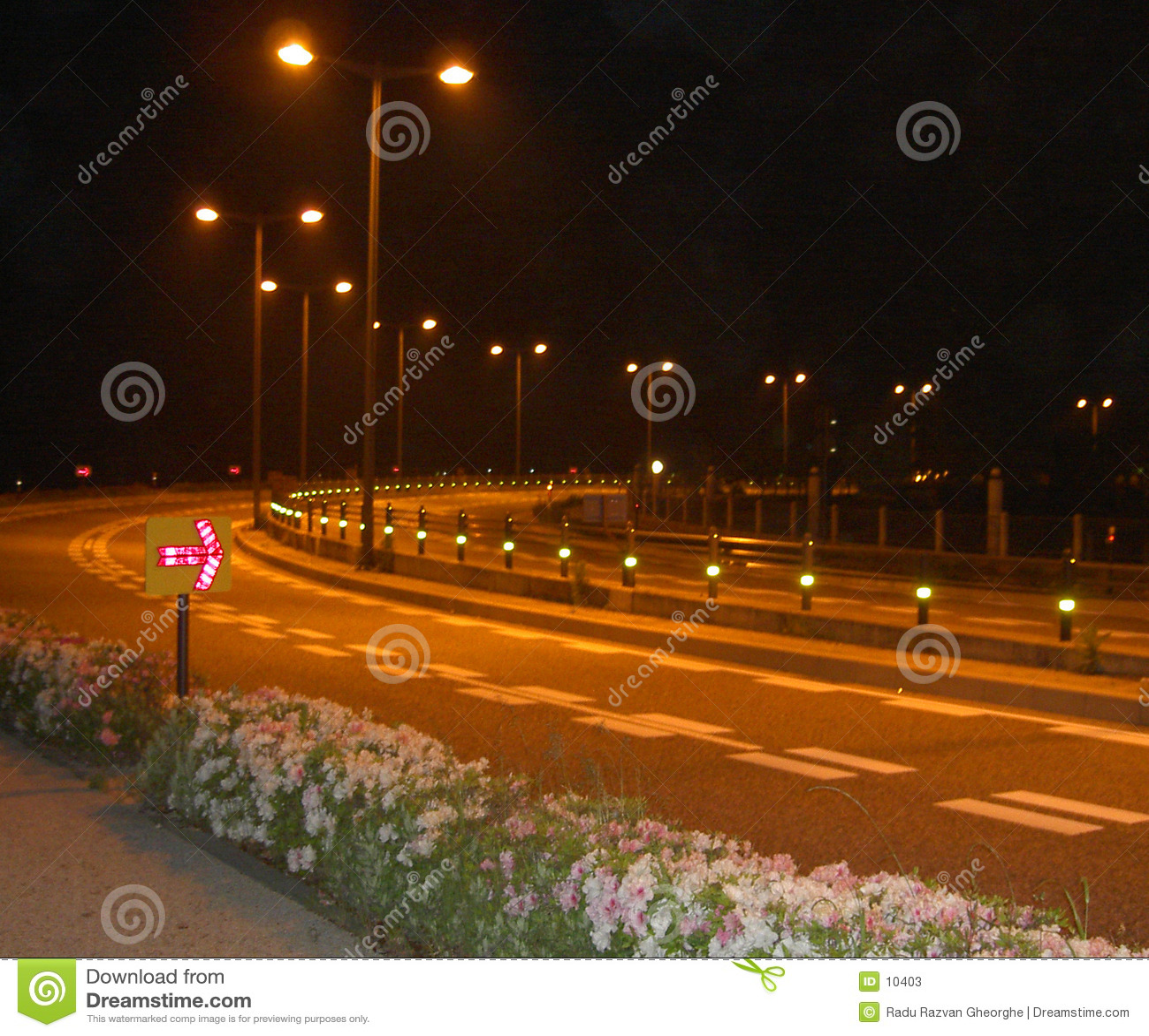 De weg van de nacht