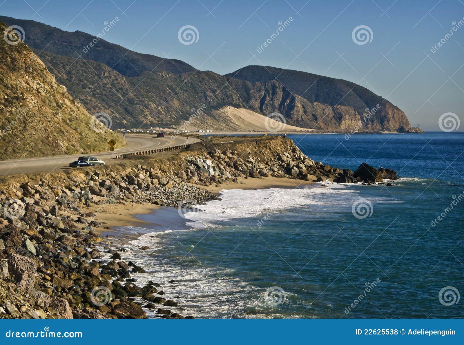 De Weg van de vreedzame Kust, Californië