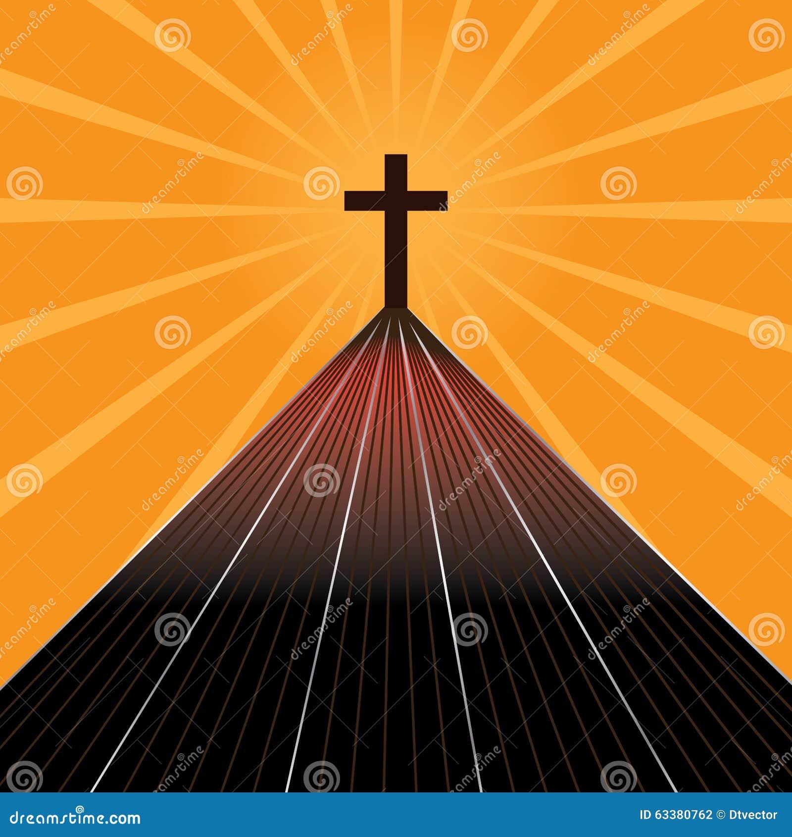 De weg van kruis