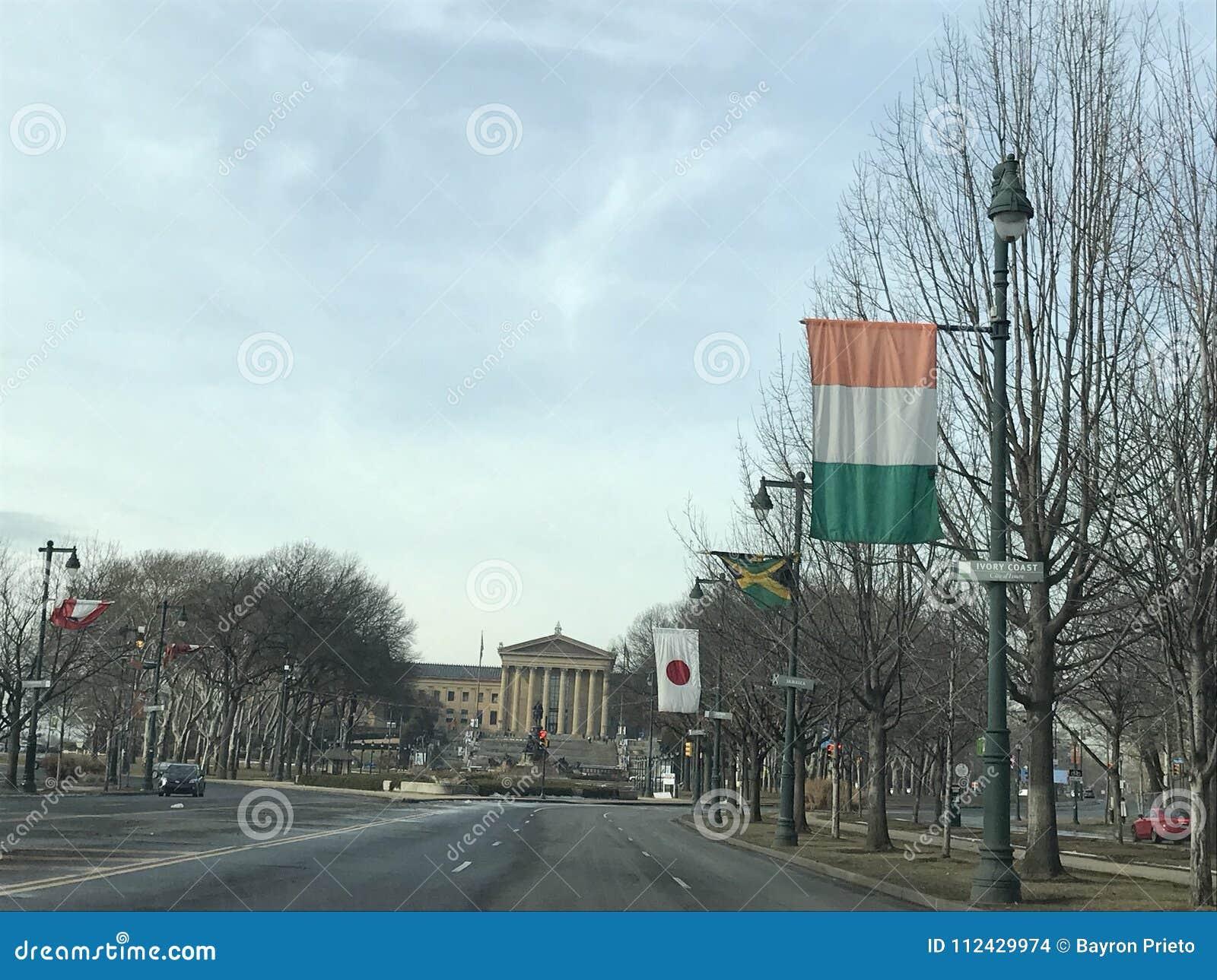De weg van Philadelphia