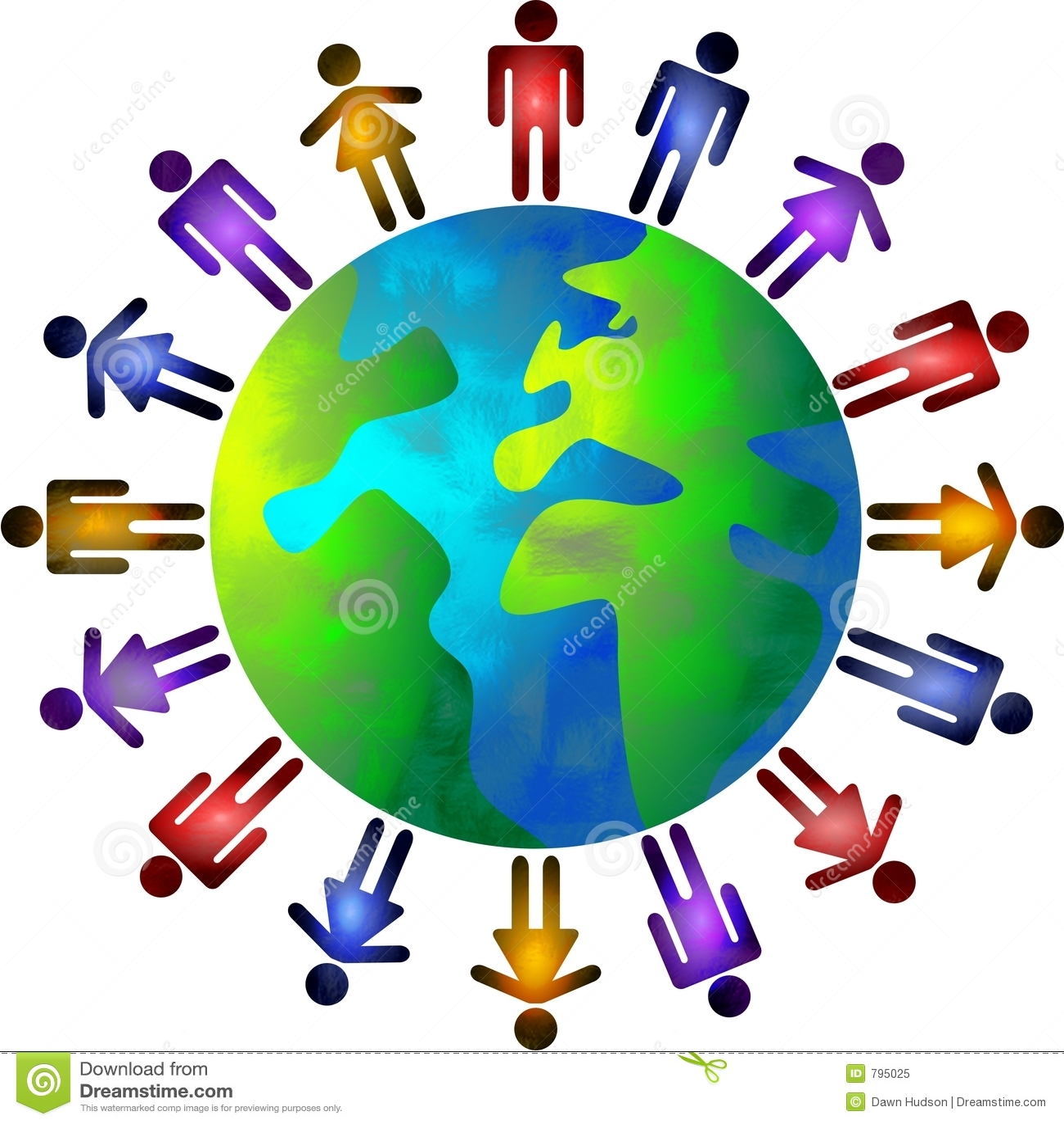De wereld van mensen
