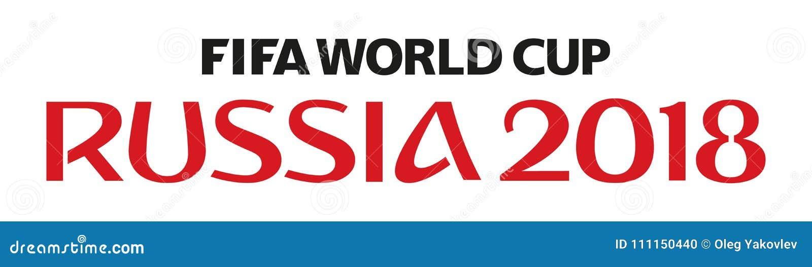 De wereldbeker 2018 van Rusland