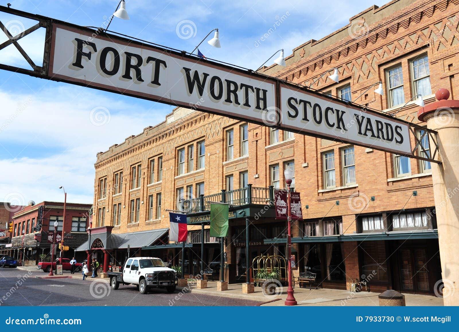 De Werven van de Voorraad van Fort Worth
