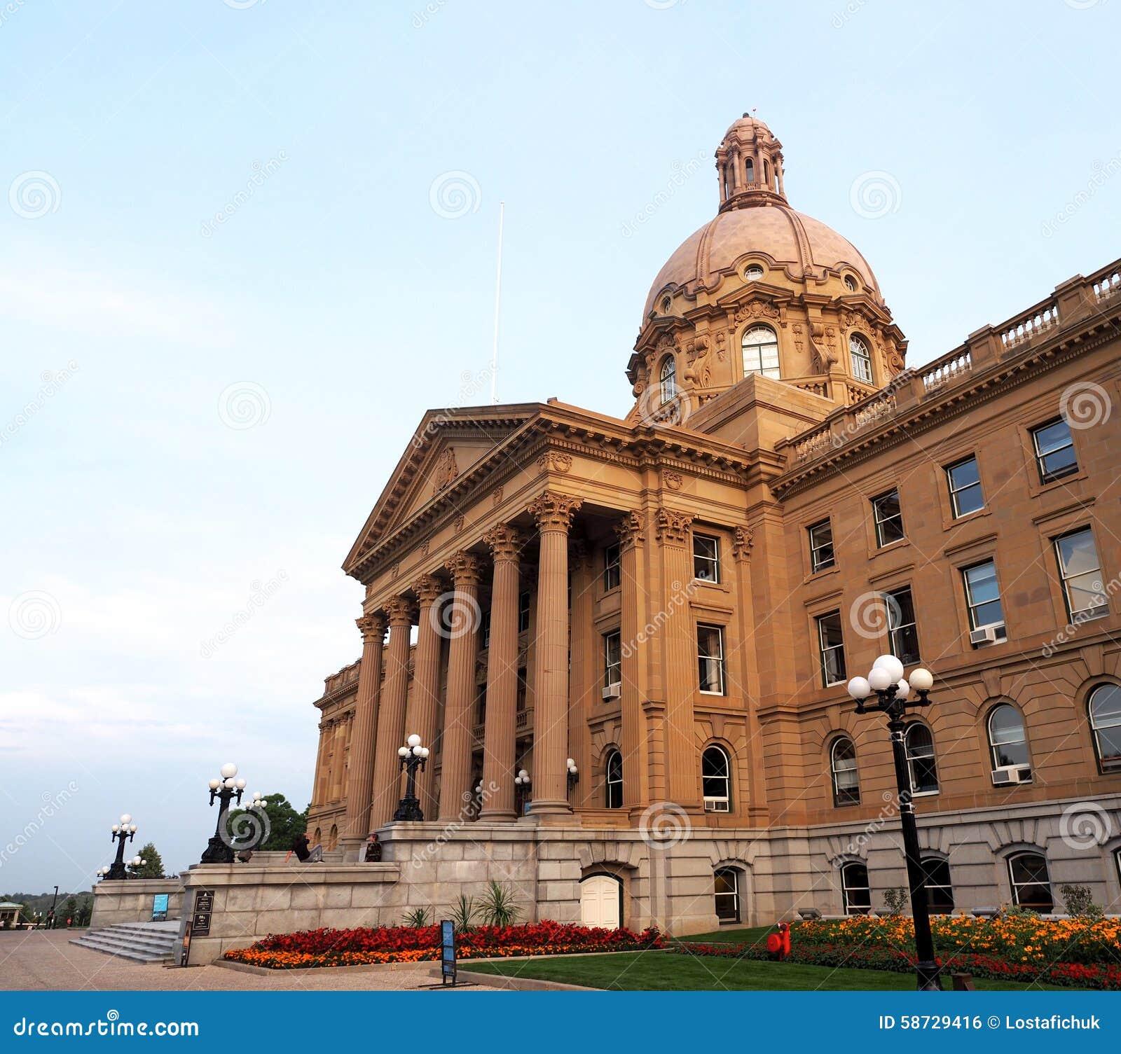 De wetgevende Bouw Edmonton, Alberta