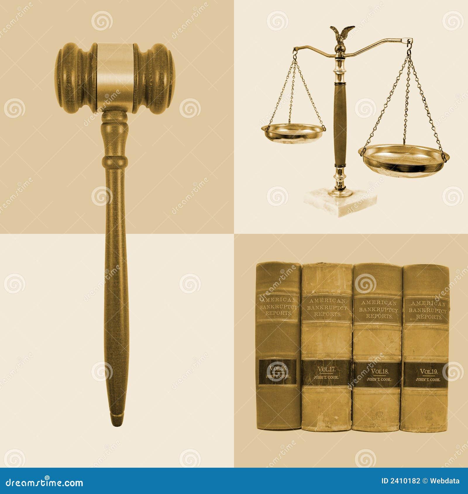 De wettelijke Collage van de Rechtvaardigheid van de Wet