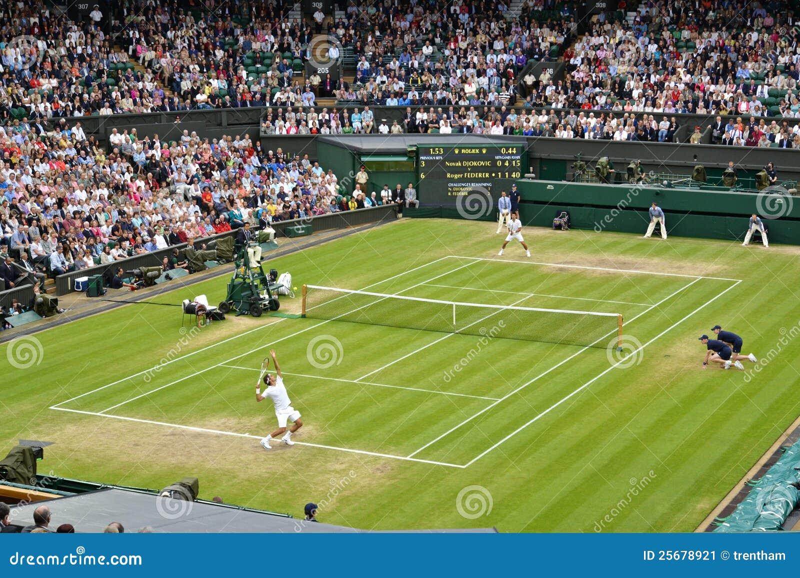 De Wimbledon 2012 des hommes la finale semi