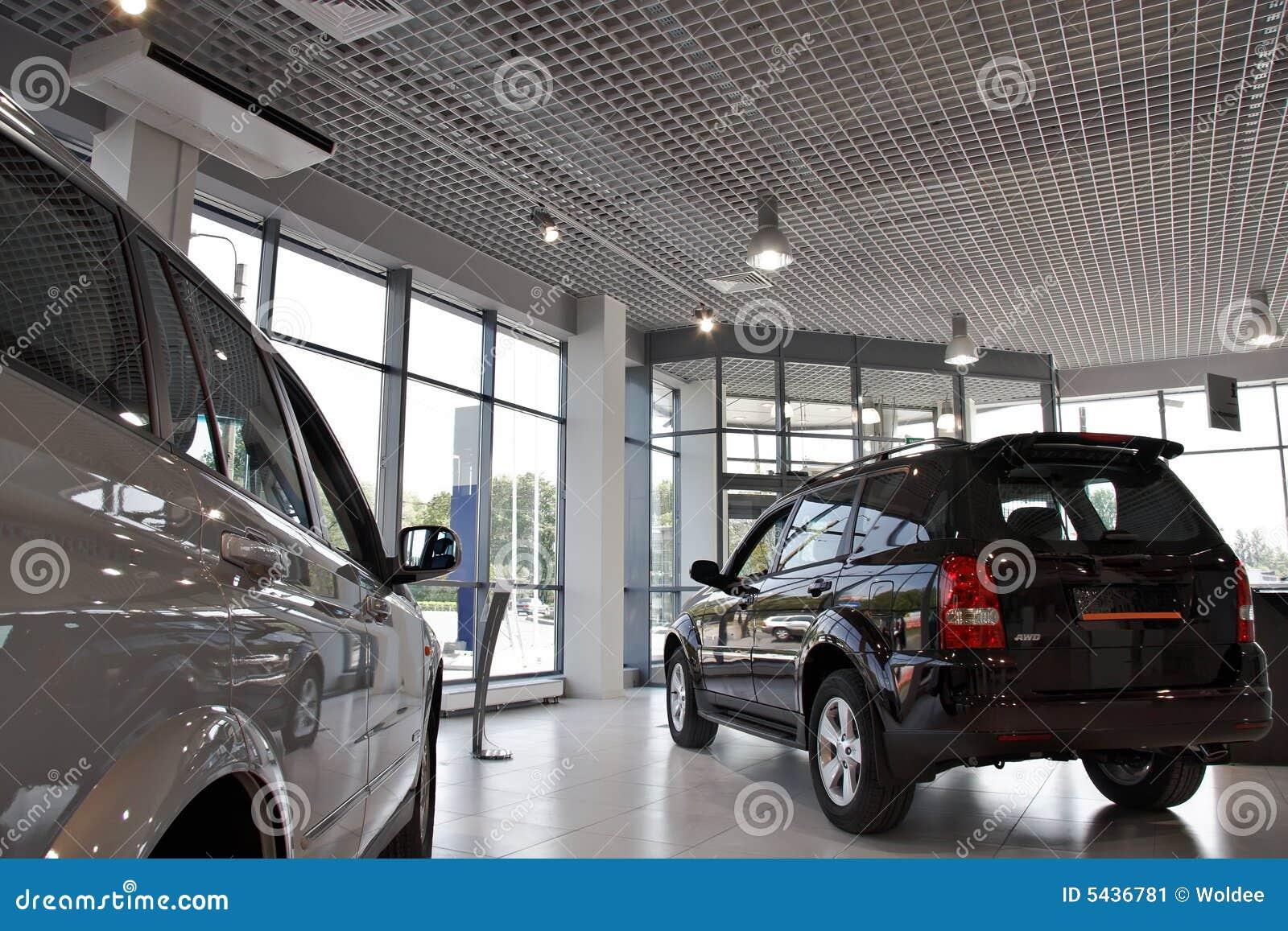 De Winkel Van Auto 39 S Stock Afbeelding Afbeelding