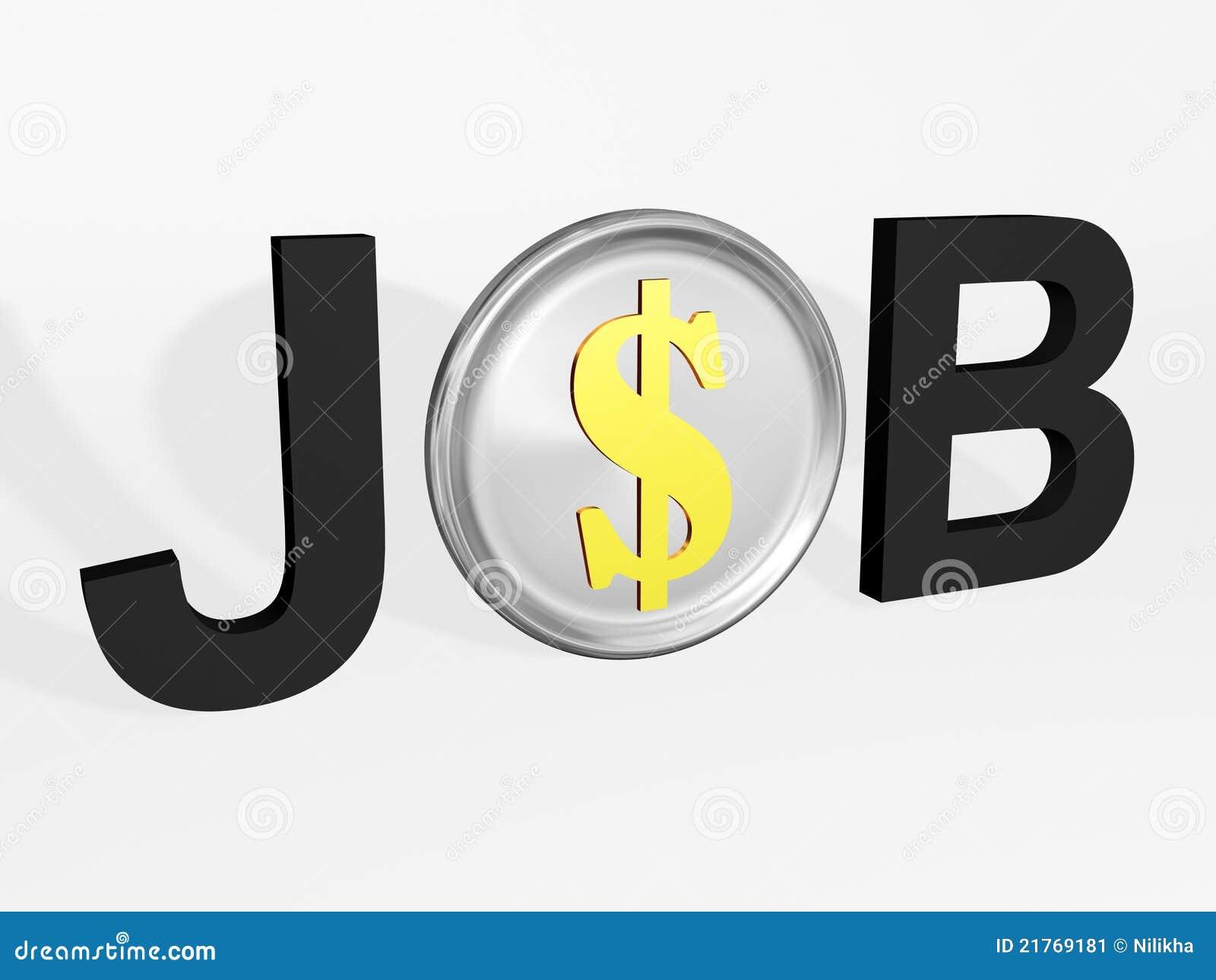 De winst van de baan