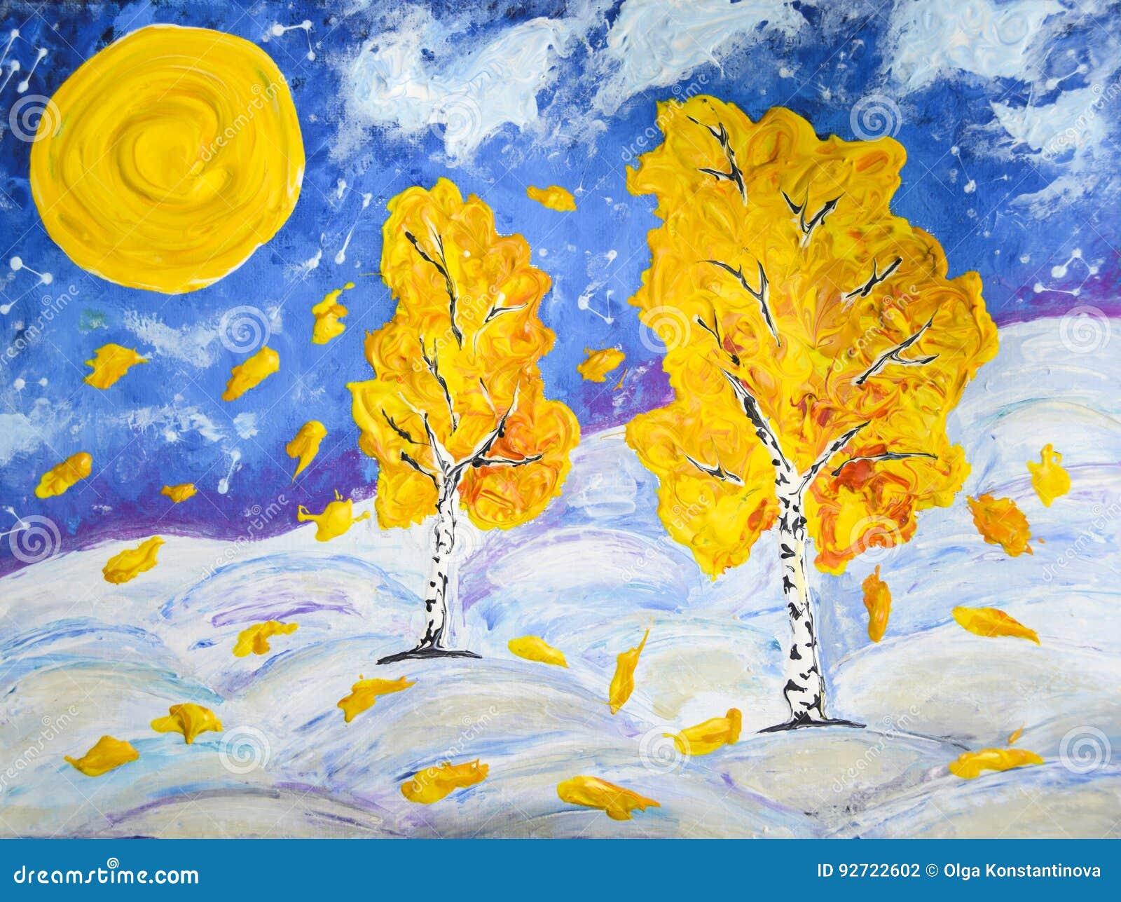 De winter en de herfst