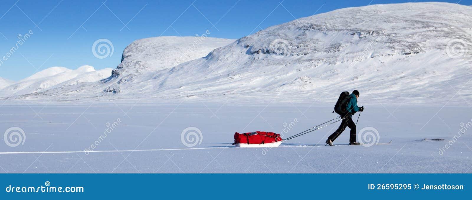 De winter op Kungsleden