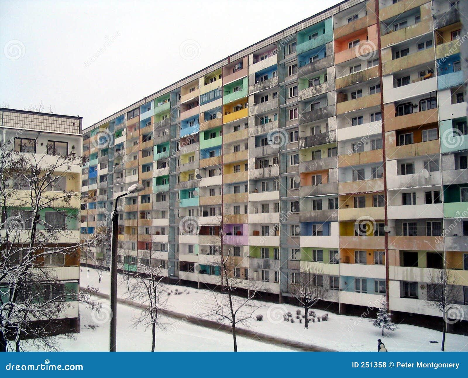De winter in Polen